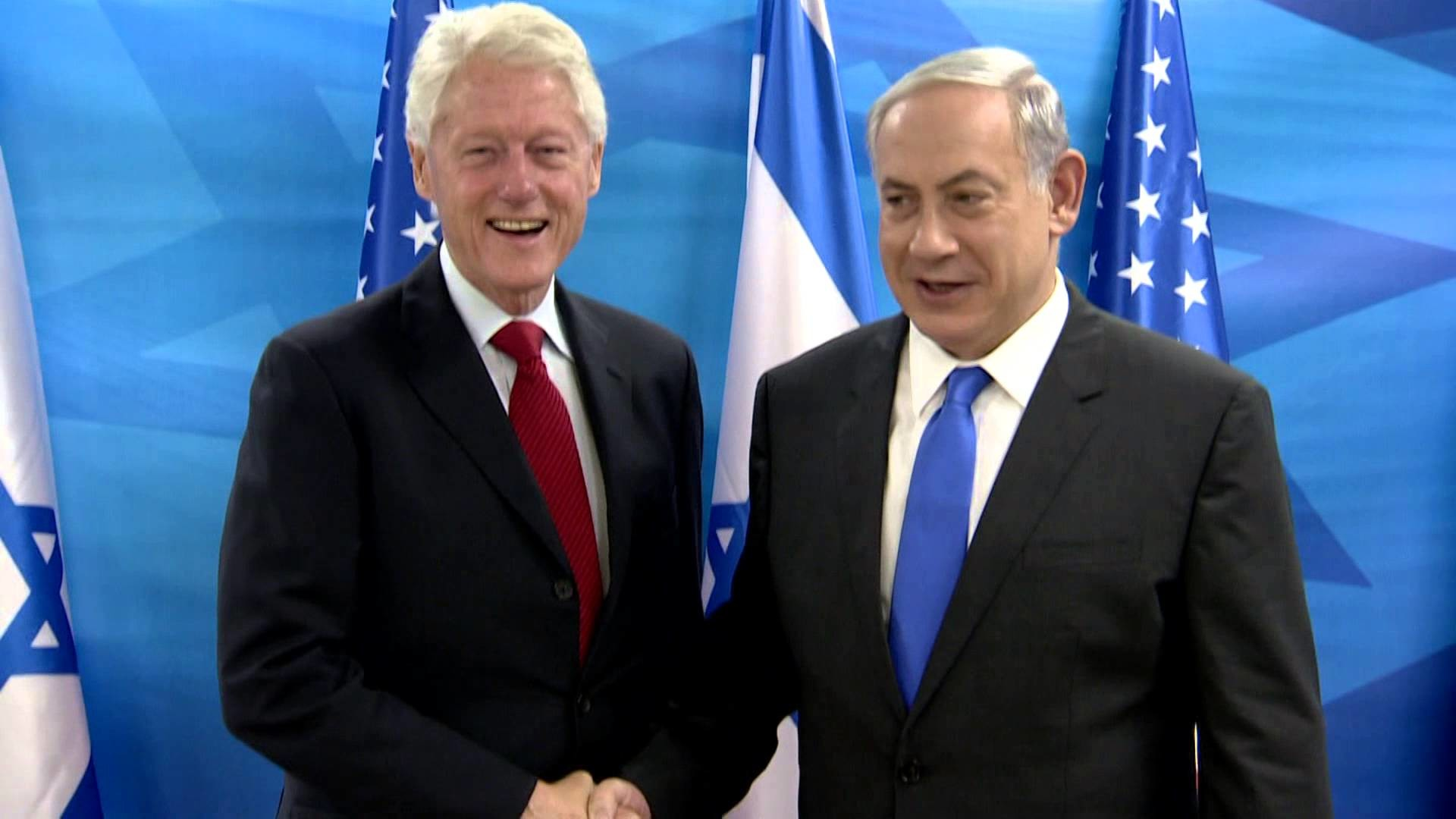 PM Netanyahu meets Bill Clinton
