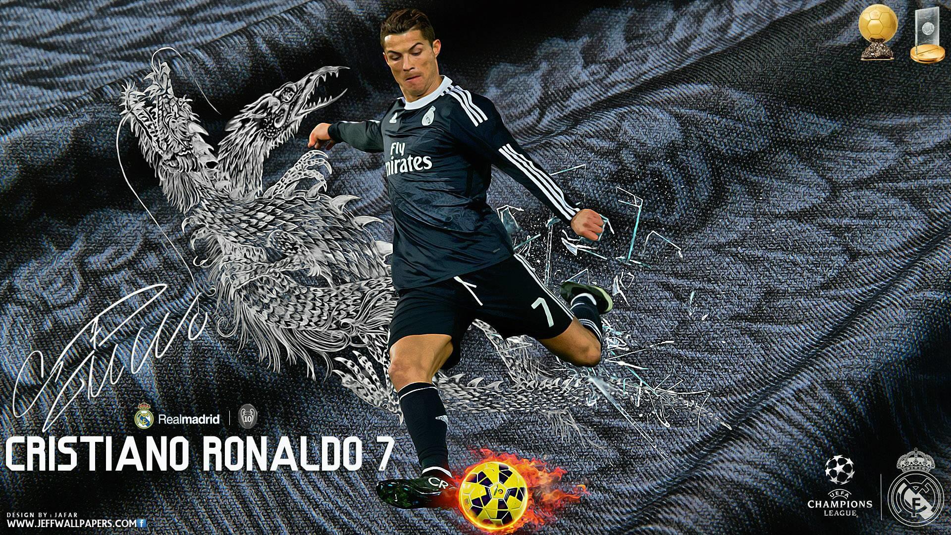 Cristiano Ronaldo 2015 Real Madrid FIFA Ballon d'Or Wallpaper Wide .