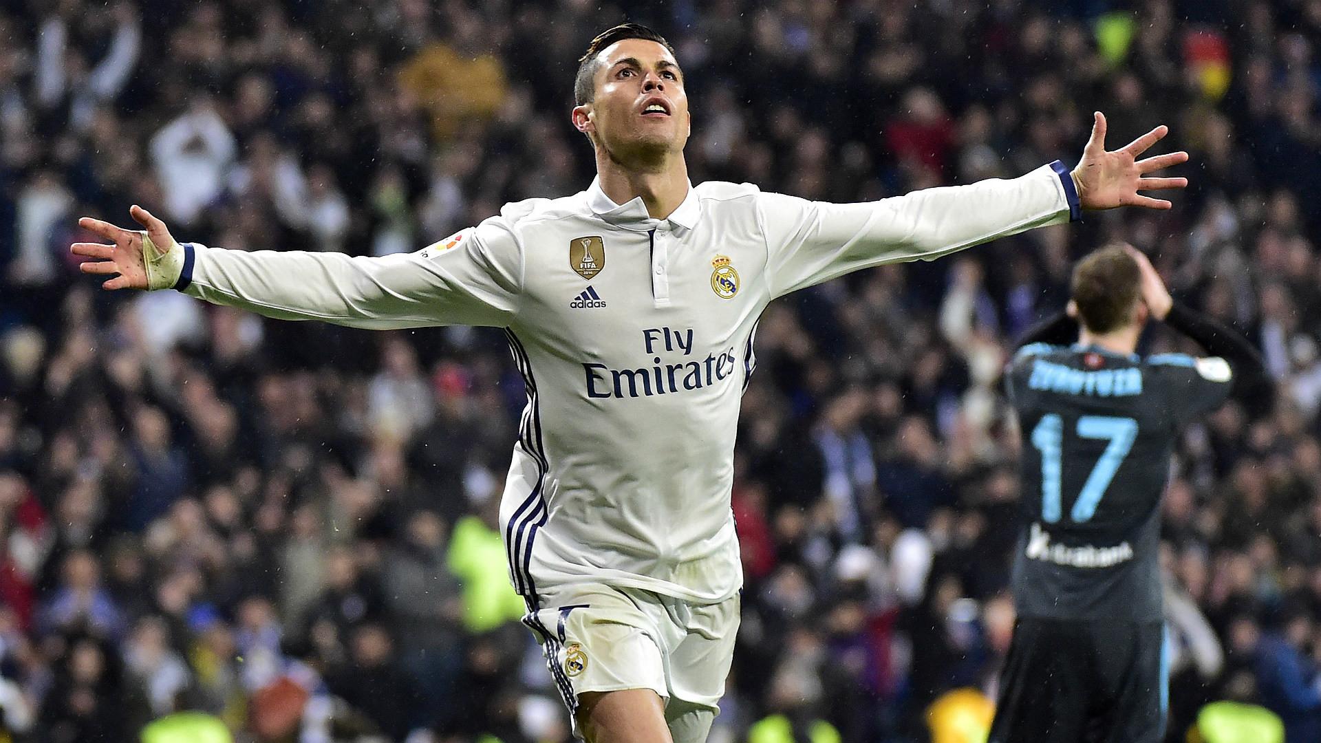 "Cristiano Ronaldo Real Madrid Real Sociedad LaLiga 29012016. """