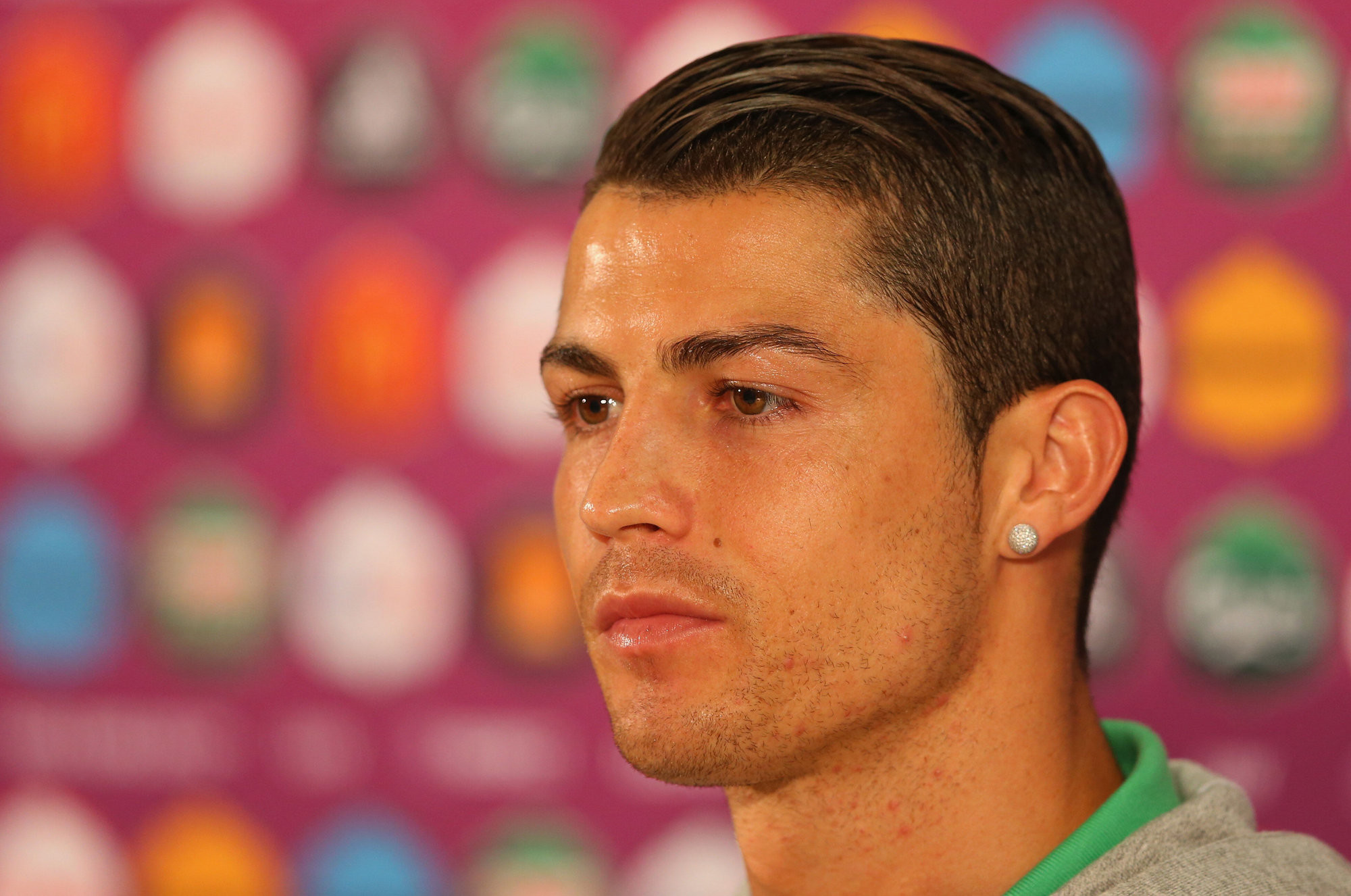 Cristiano Ronaldo New Hairstyles 2014