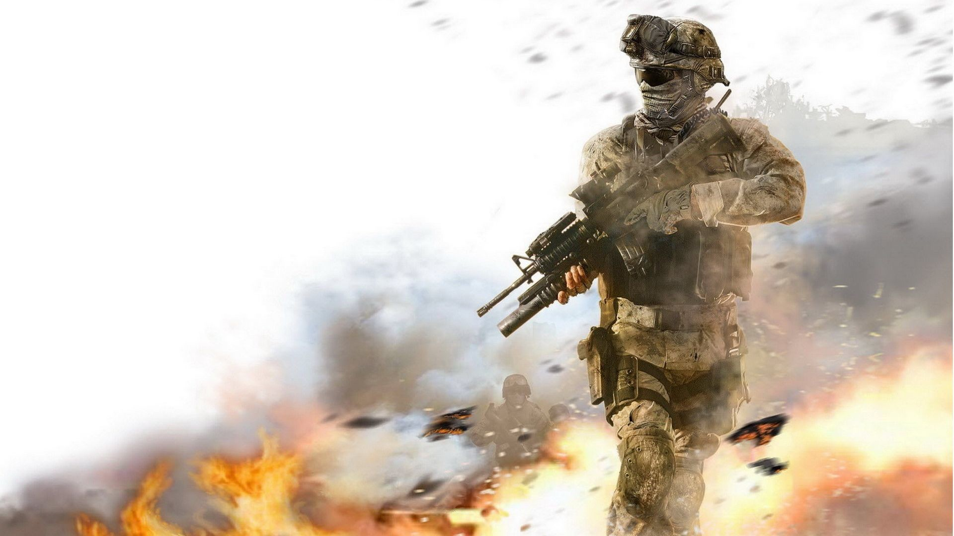 Marine with M4A1 Wallpapers, Wallpapers & Pictures .