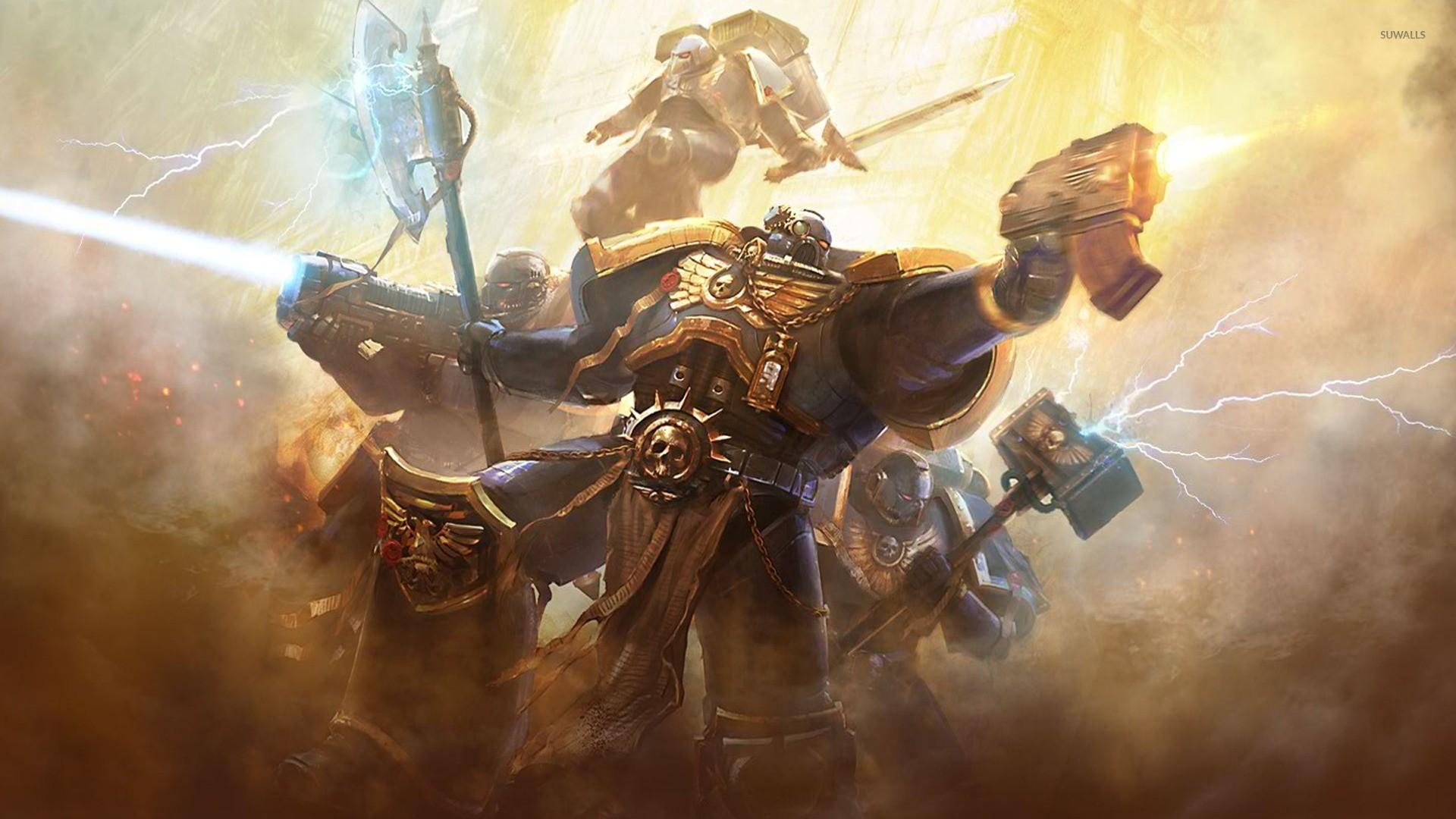 Warhammer 40,000 – Space Marines wallpaper jpg