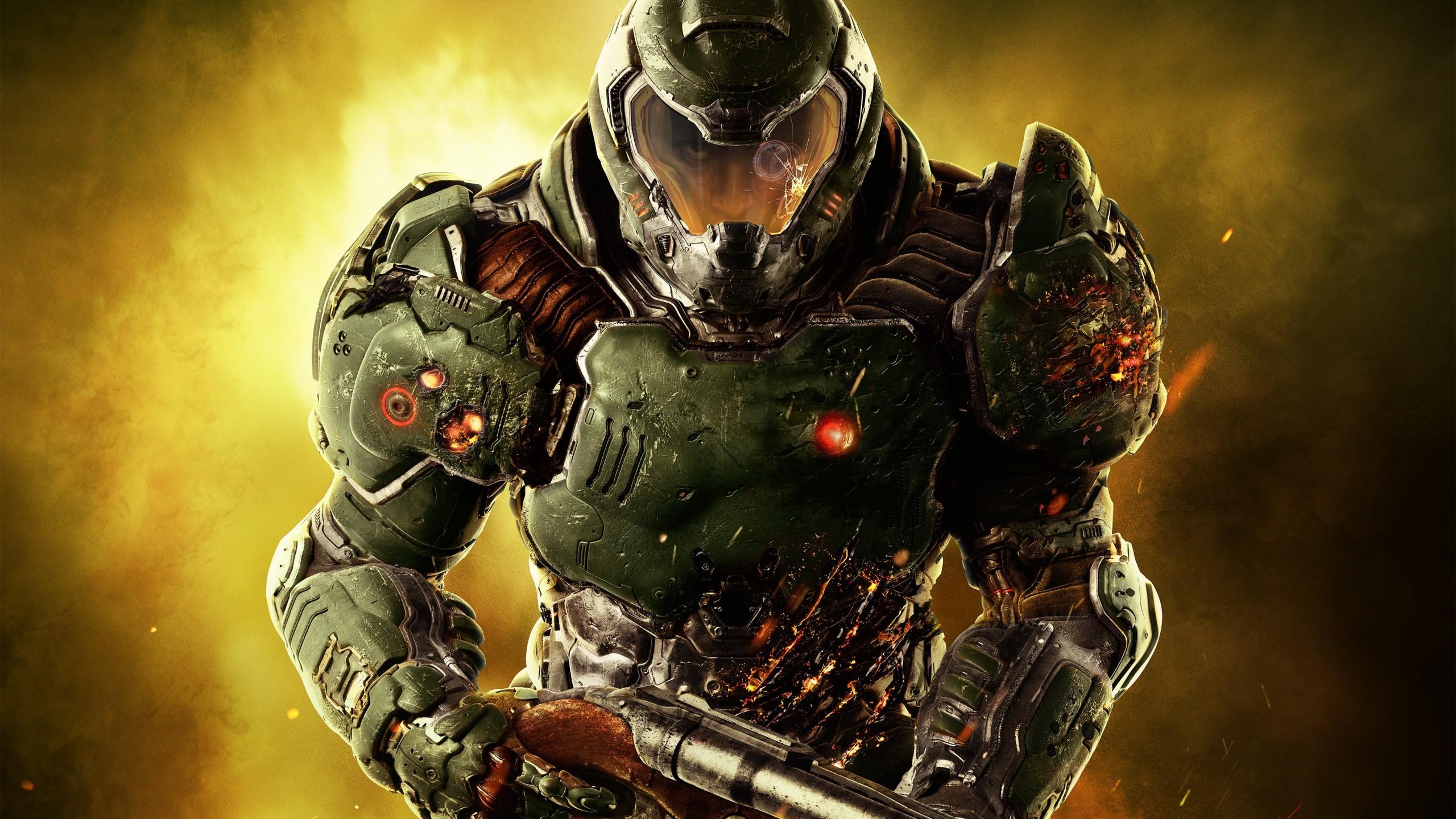 Games / Doom Marine Wallpaper