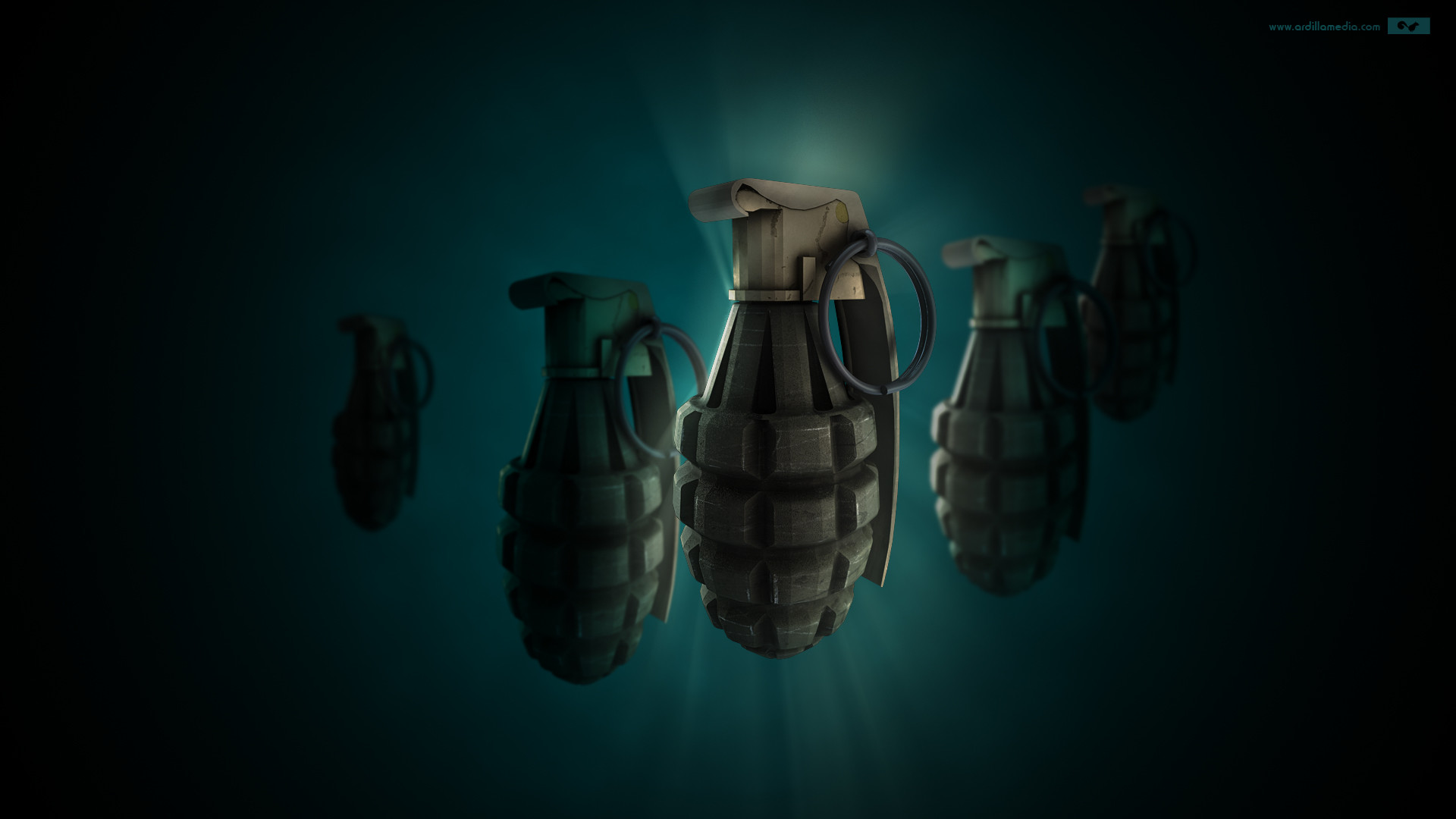 Hand Grenade wallpaper – 190585
