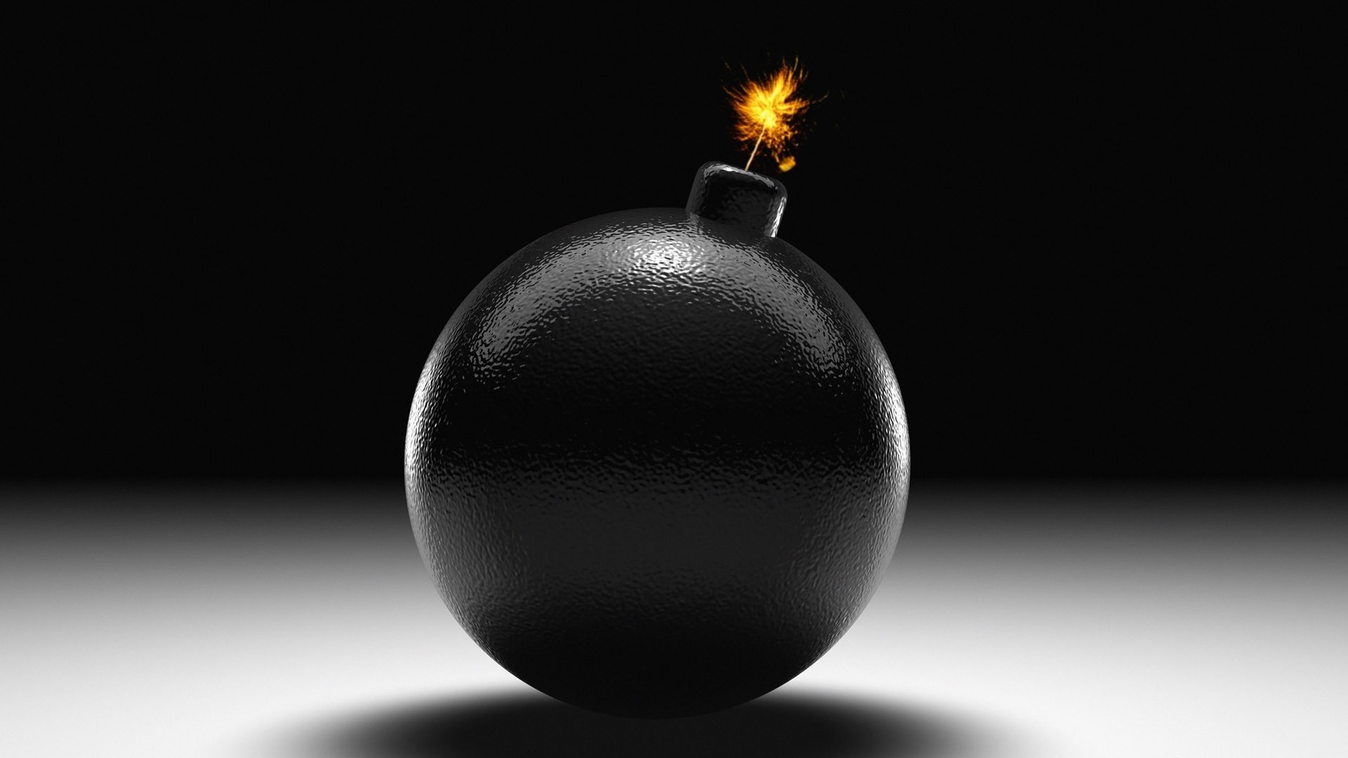 bomb, explosion, black