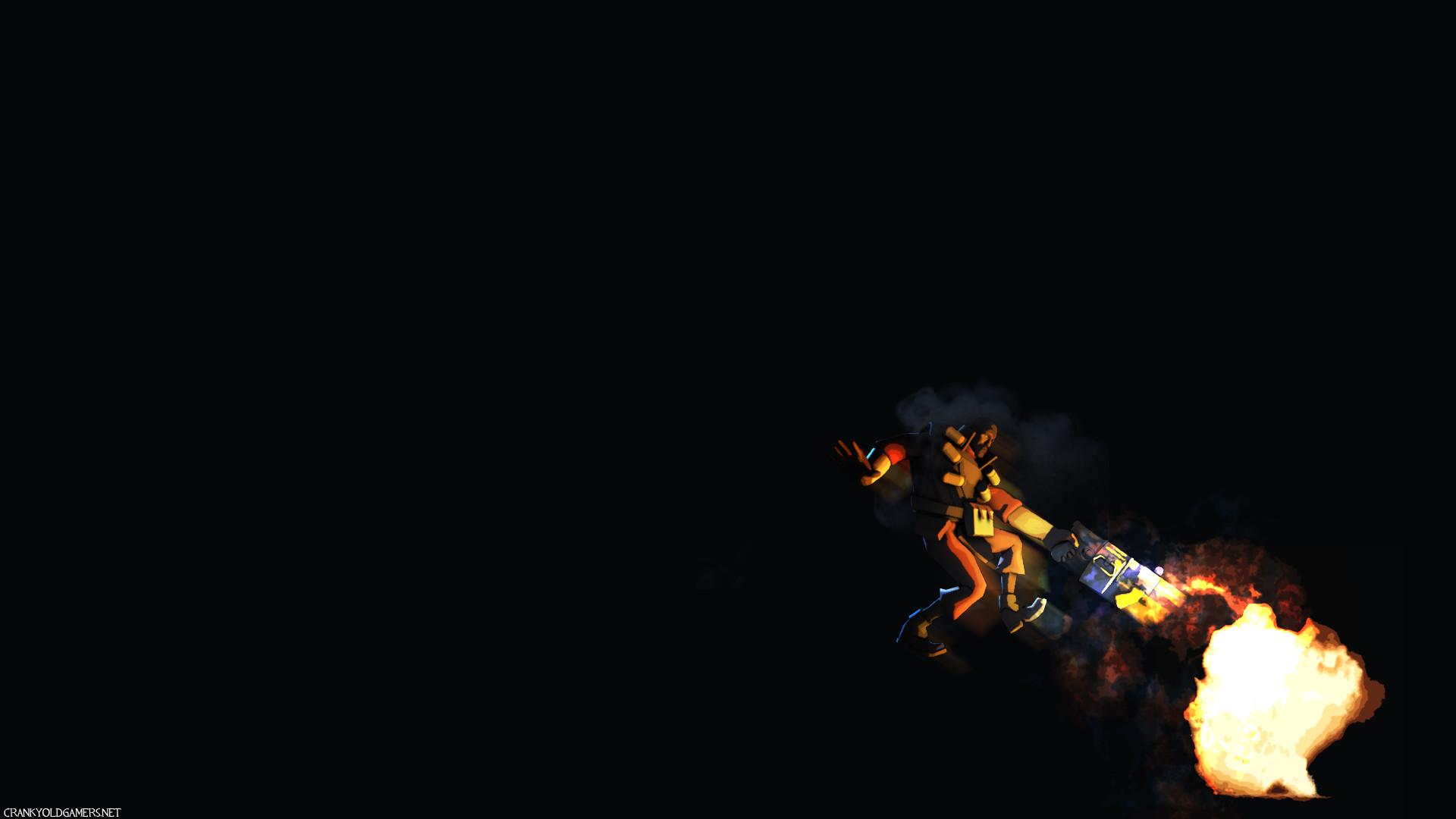 Next TF2 Wallpaper: Grenade Jumper