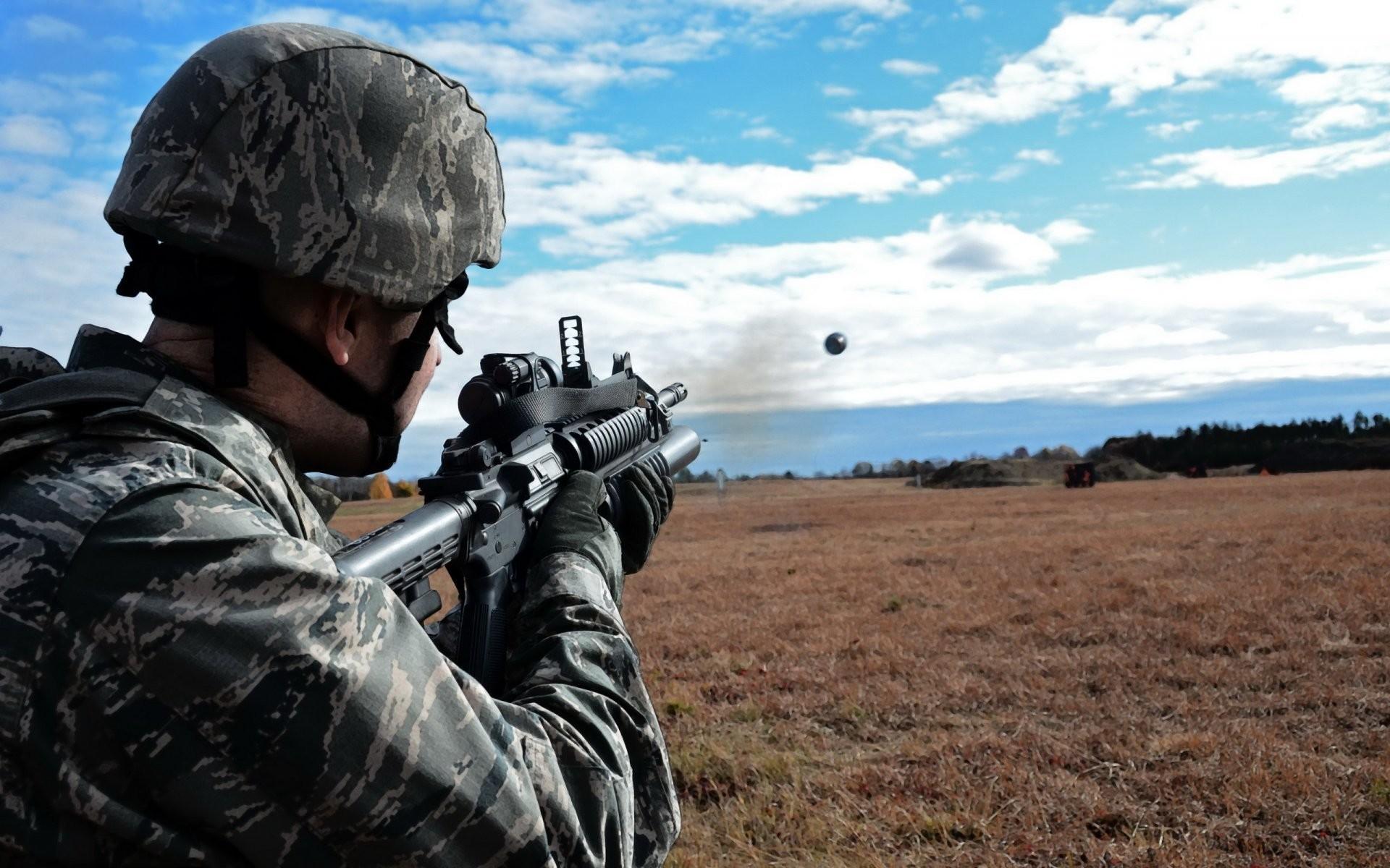 grenade launcher airman air national guard air force