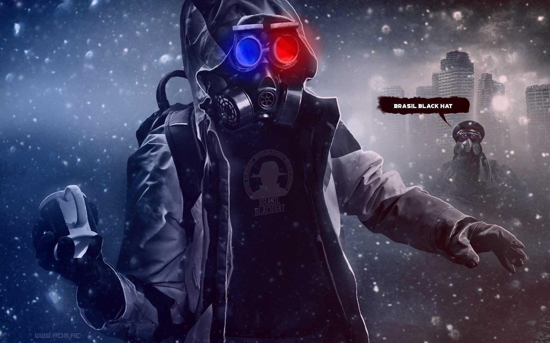 Mask War Man Brasil Blackhat Grenade Soldier Contamination Danger Wallpaper  At Dark Wallpapers