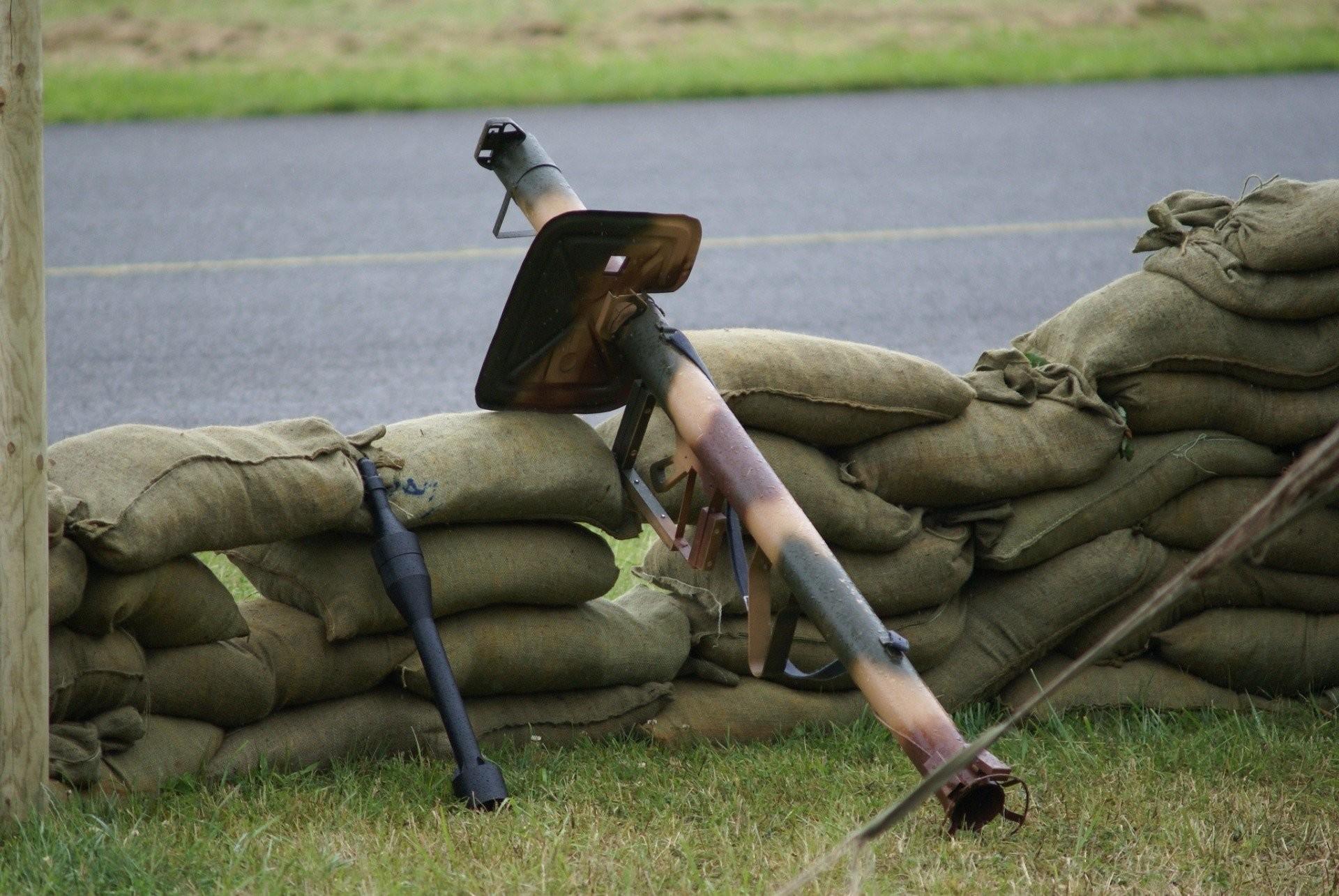 jet grenade german panzerschreck anti-tank special grenade manual cumulative