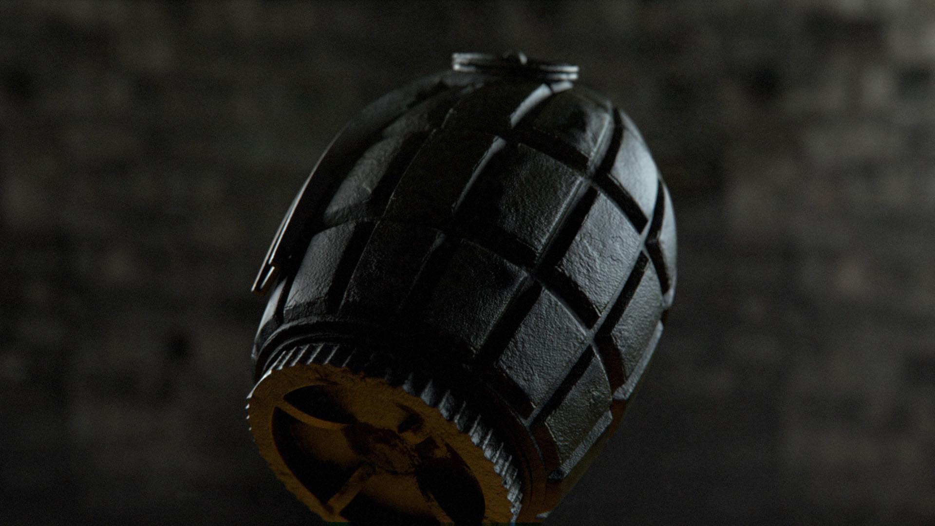 Australian War Memorial Grenade Demo Scene