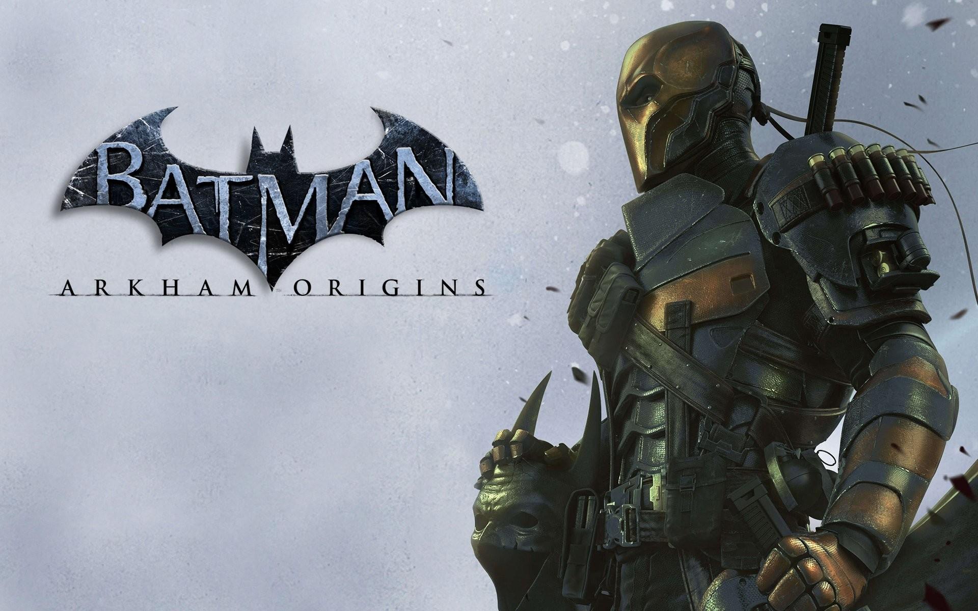 batman: arkham origins batman: arkham chronicles deathstroke defstrouk  slade wilson slade wilson terminator terminator