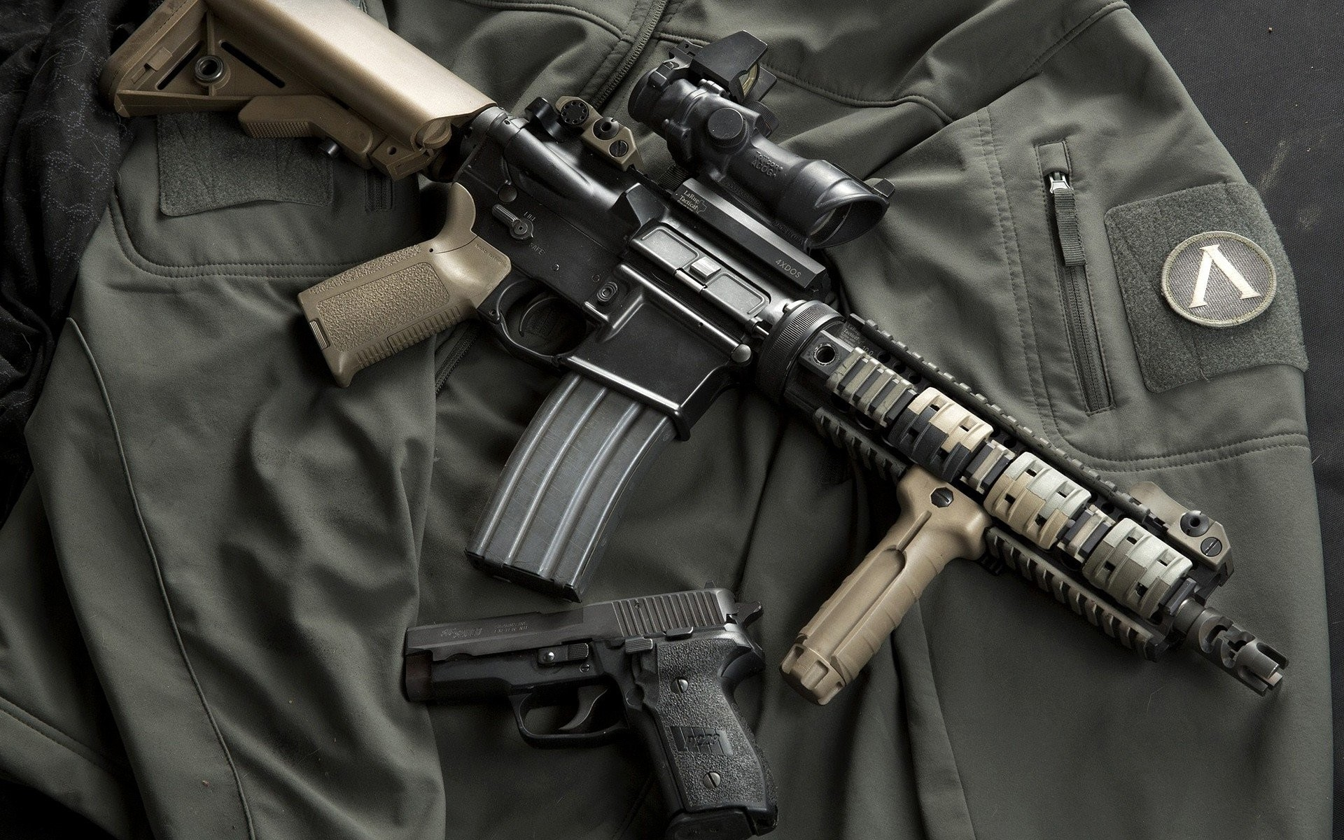 HD Wallpaper   Background ID:406373. Weapons Colt AR-15