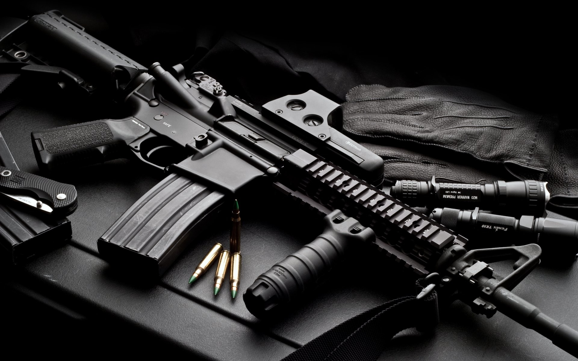 HD Wallpaper   Background ID:96814. Weapons Colt AR-15