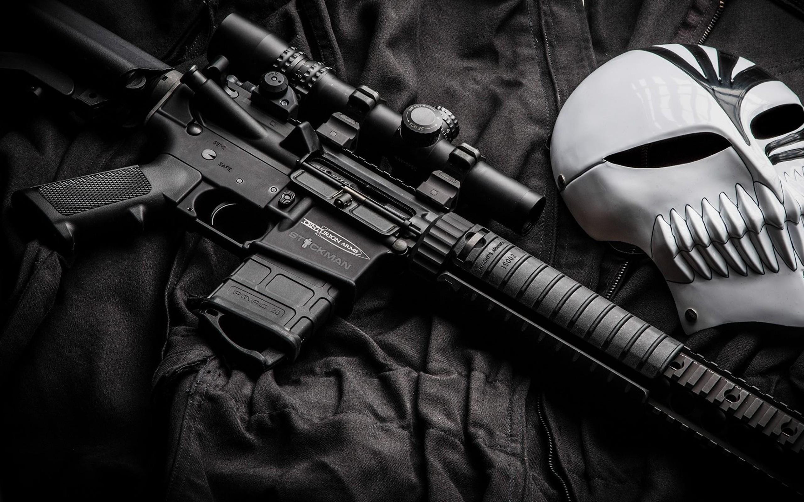 guns bleach weapons masks ar15 hollow mask 1920×1080 wallpaper Wallpaper HD