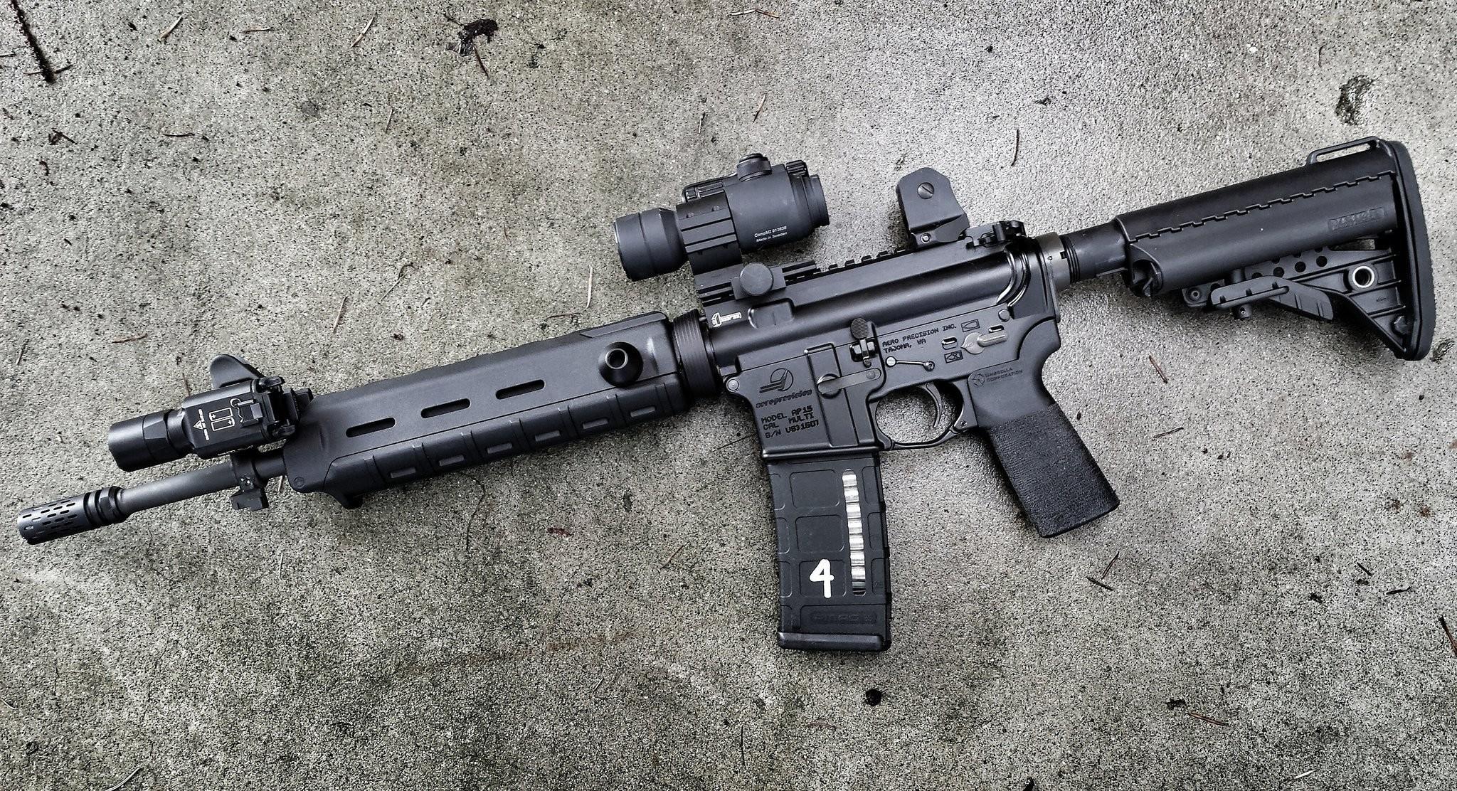 ar-15 assault rifle assault rifle background
