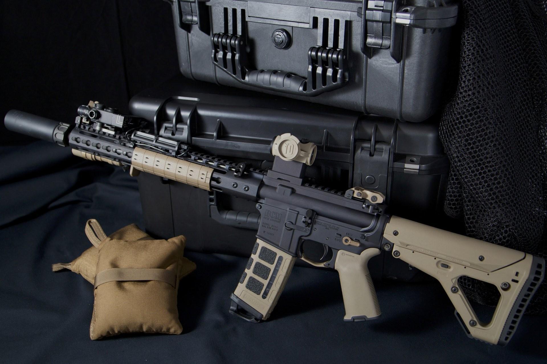ar-15 assault rifle weapon boxes