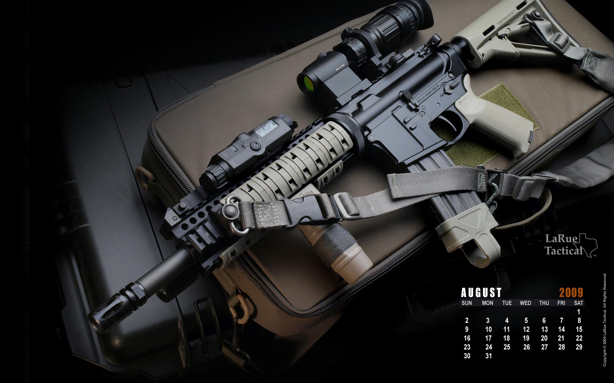 Aimpoint AR 15 Calendar Guns LaRue Tactical Weapons
