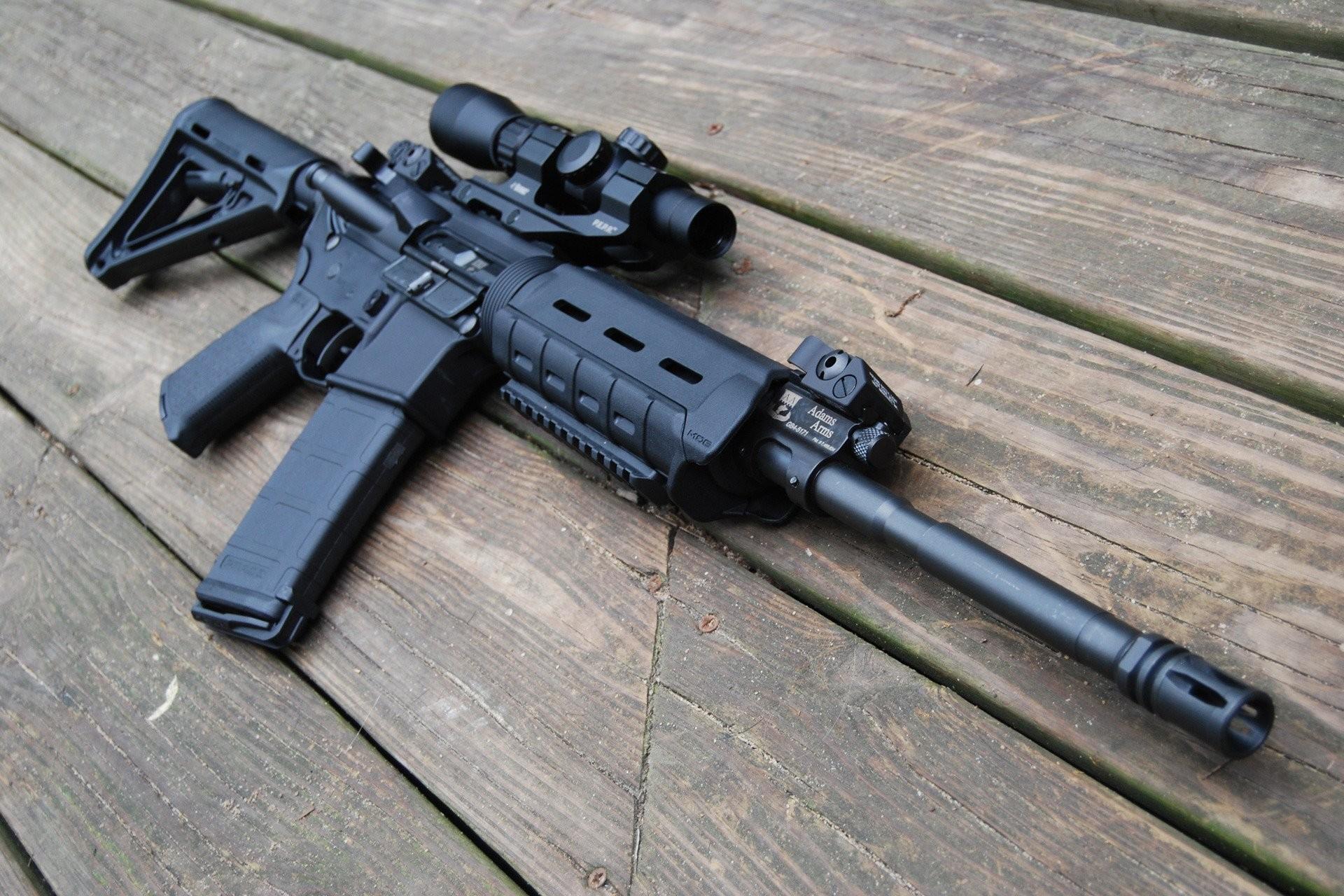 m4 assault rifle assault rifle hd wallpaper machine ar-15 optics board