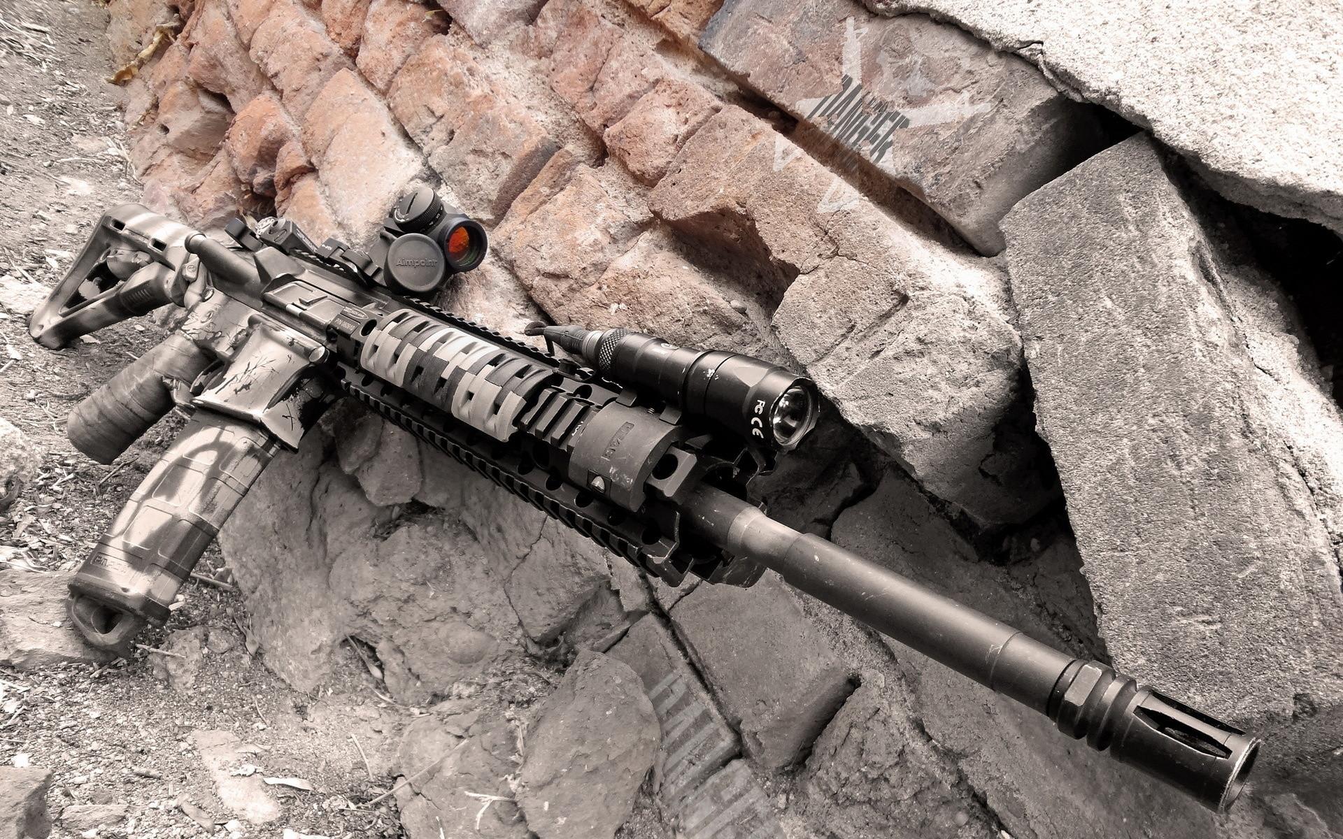 Colorado AR-15 military police weapon gun wallpaper     210285    WallpaperUP