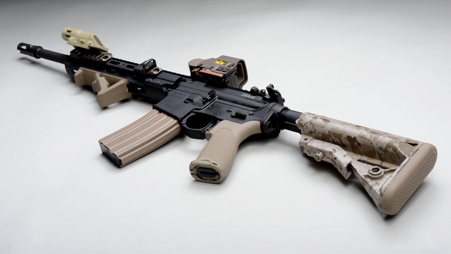 Automatic AR-15 Assault Rifle
