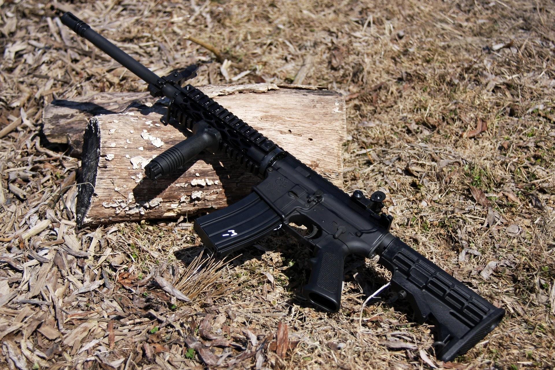 ar-15 assault rifle assault rifle weapon