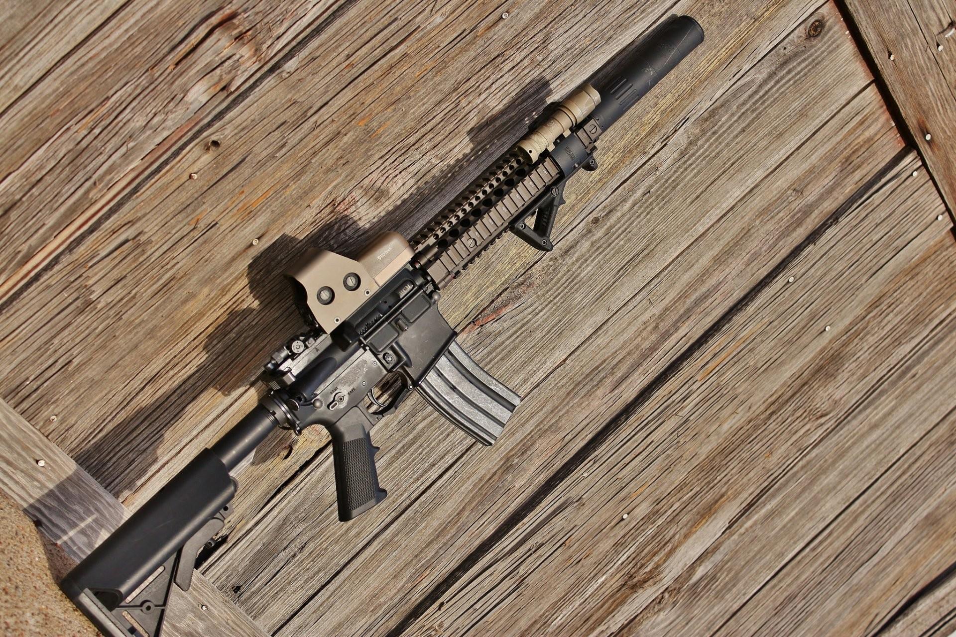 ar-15 bcm assault rifle assault rifle weapon