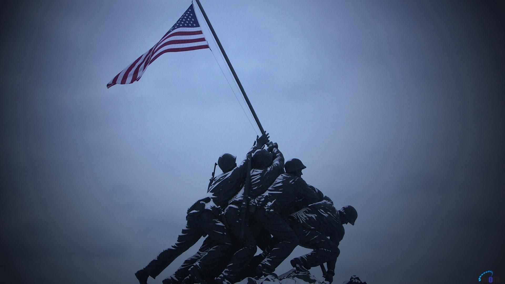 Wallpaper Marine Corps War Memorial (1920 x 1080 HDTV 1080p). Desktop .
