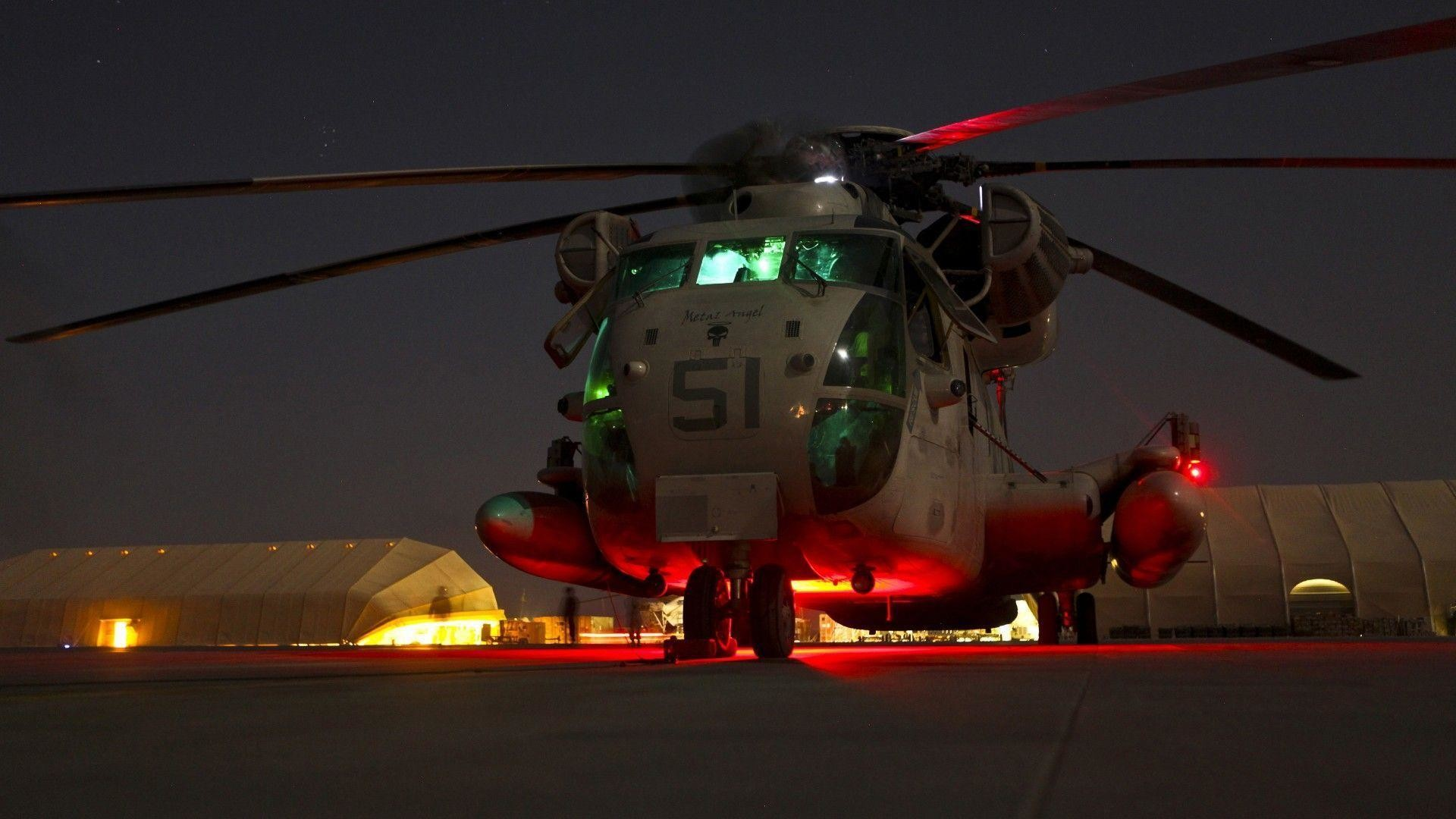 Night Helicopter Marine Corps United States Wallpapers | HD .