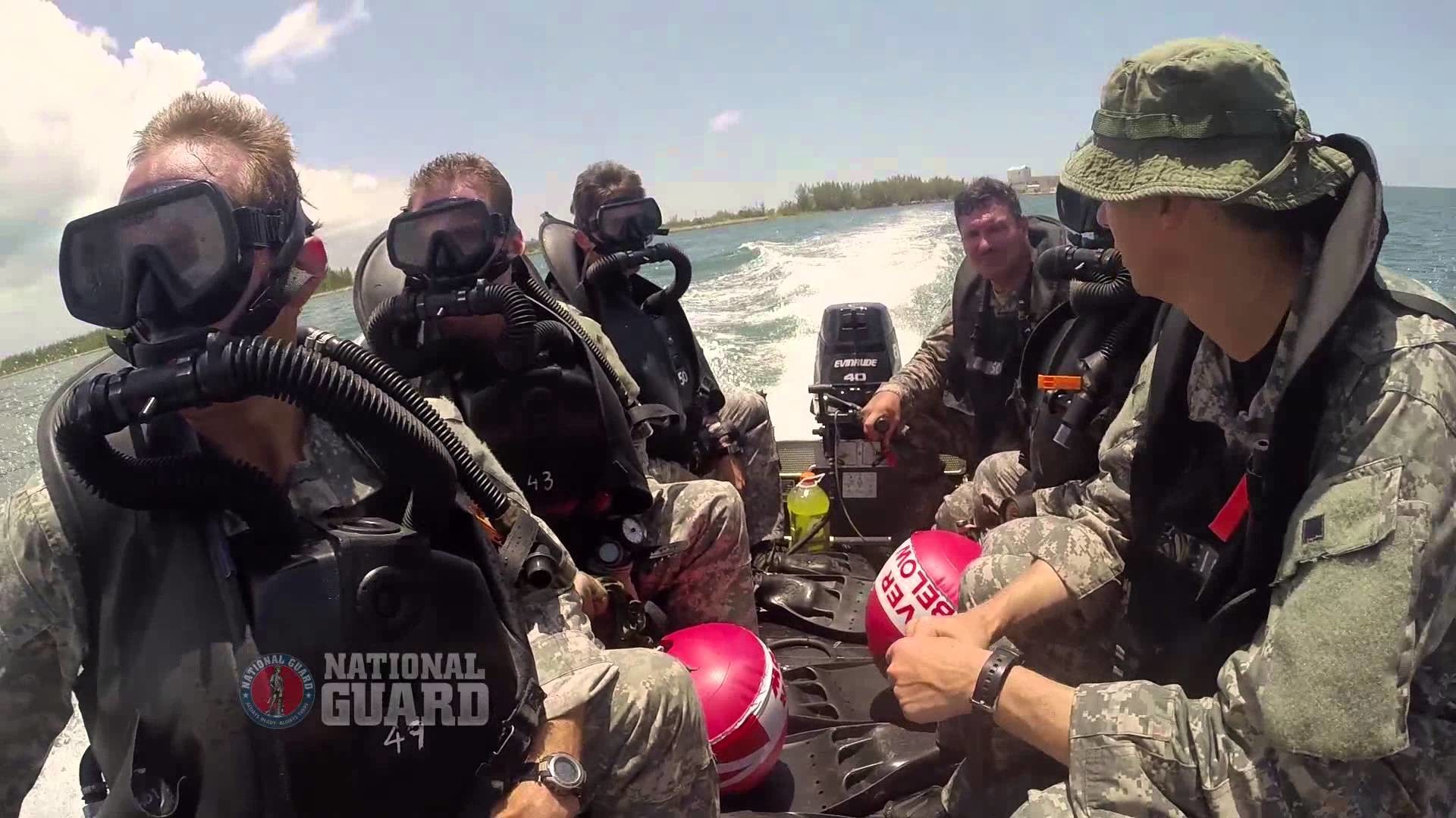 National Guard Special Forces Combat Divers Train at Underwater Operations  School – YouTube