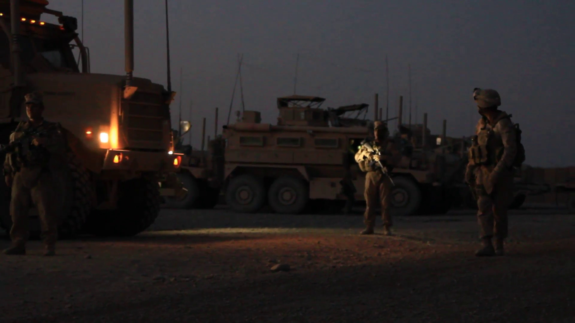 marines returning to base at night in Afghanistan Stock Video Footage –  VideoBlocks