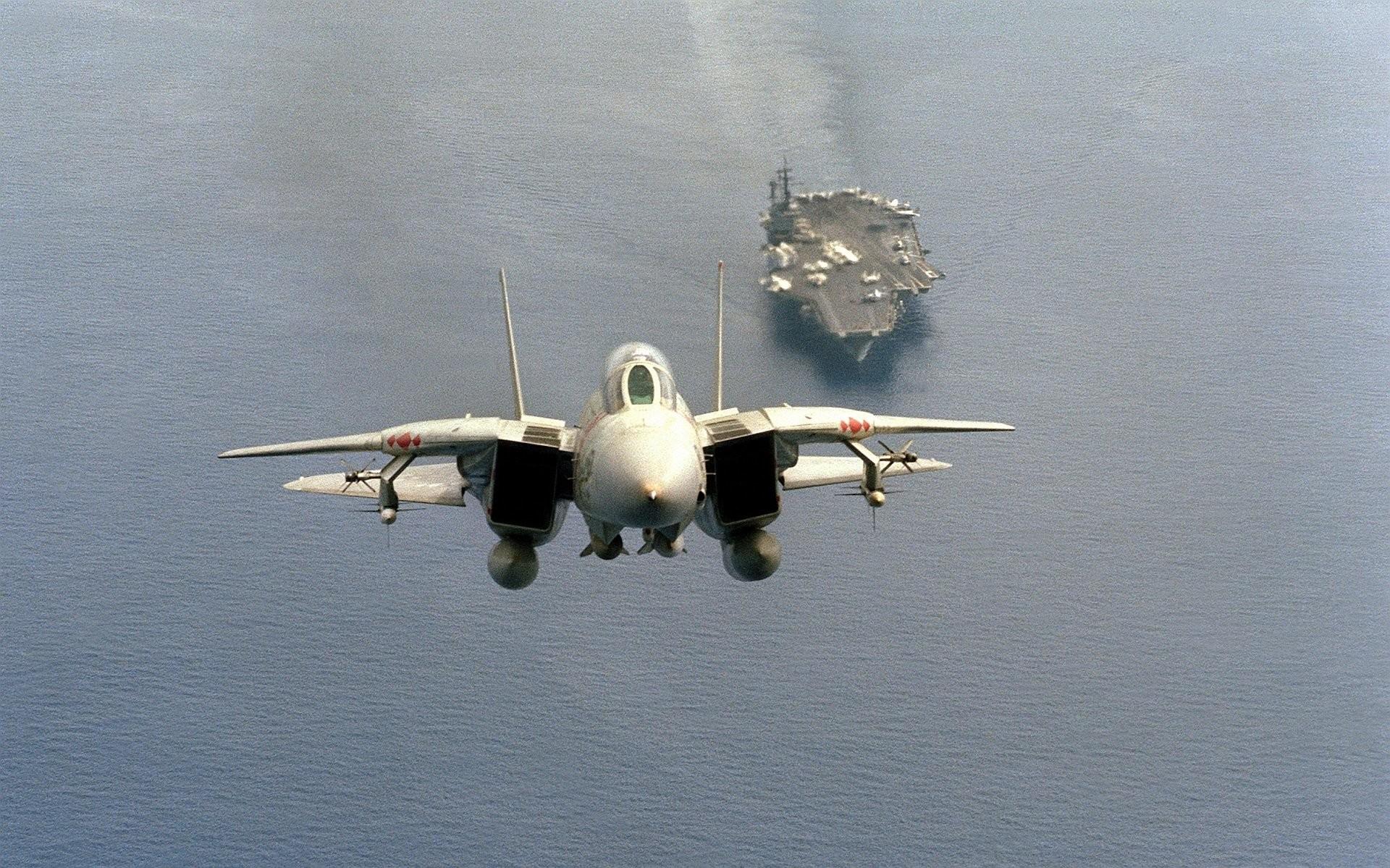 F-14 · HD Wallpaper   Background ID:412189