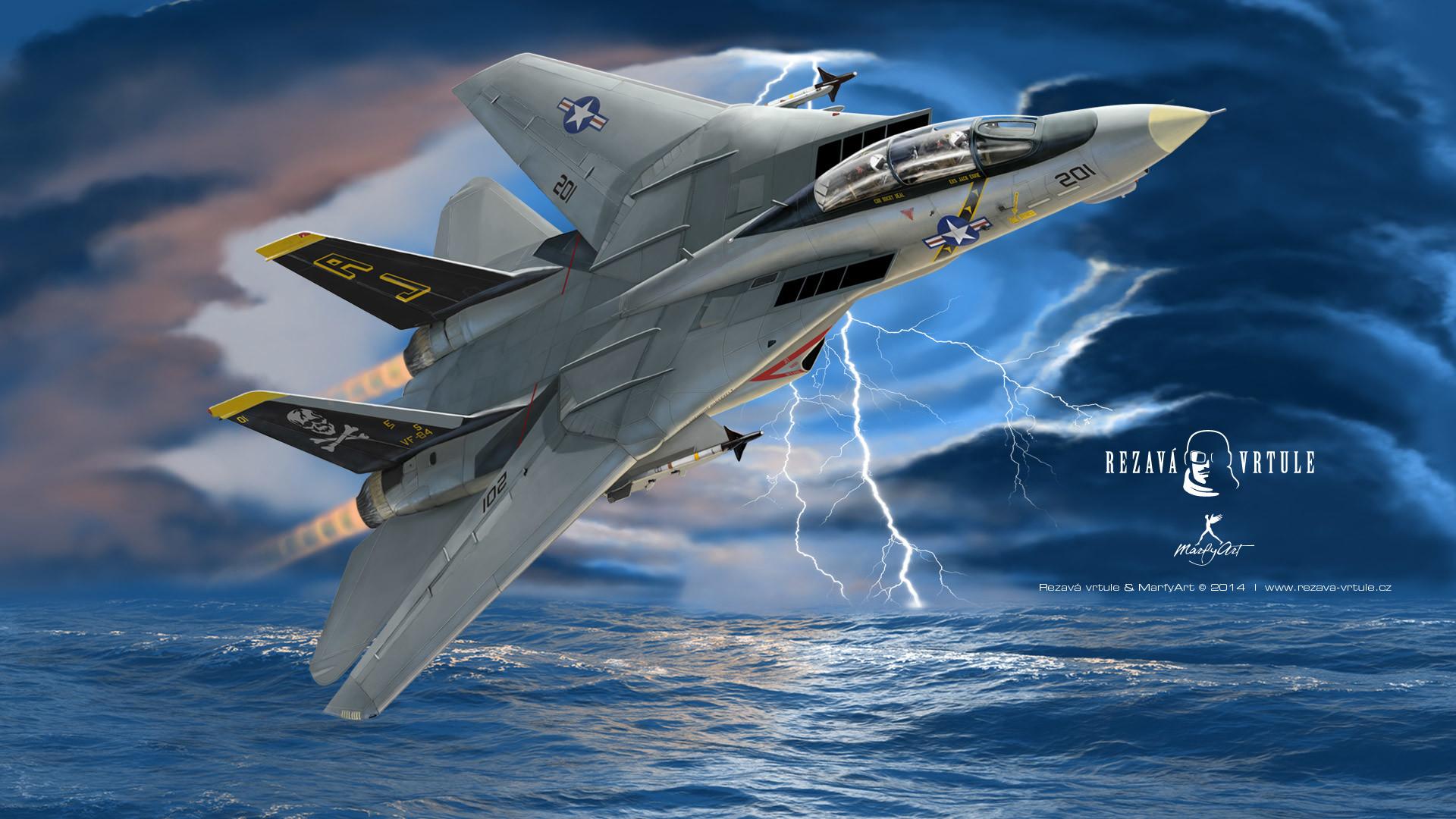F-14 HD wallpaper 1920×1080