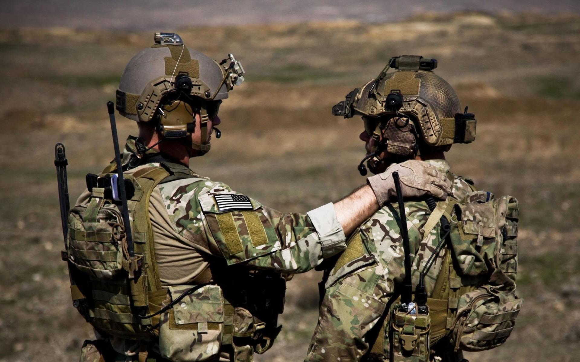 Army Ranger Buddies