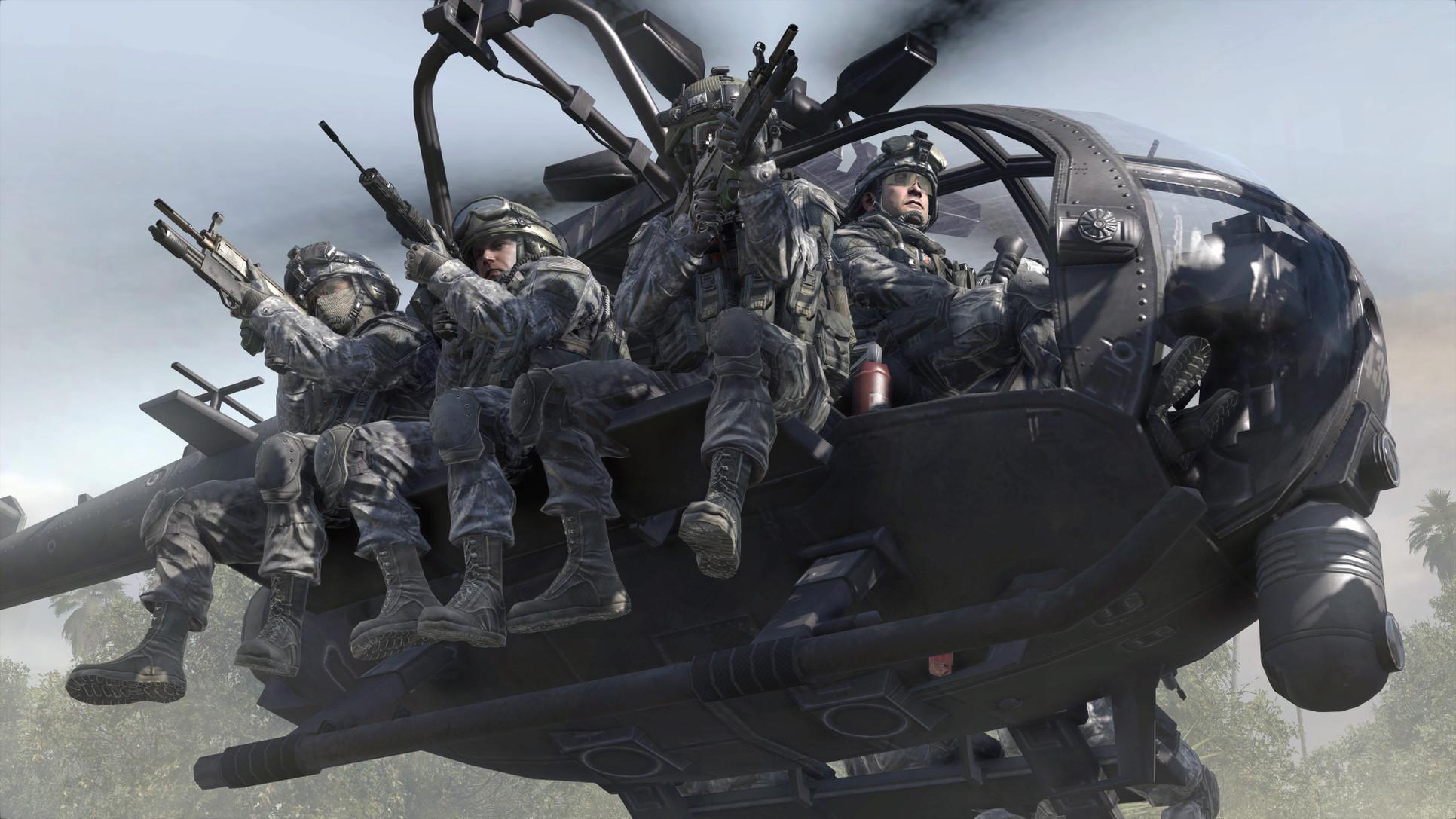 Call Of Duty Modern Warfare 2 Ghost Video Games Wallpaper 4588