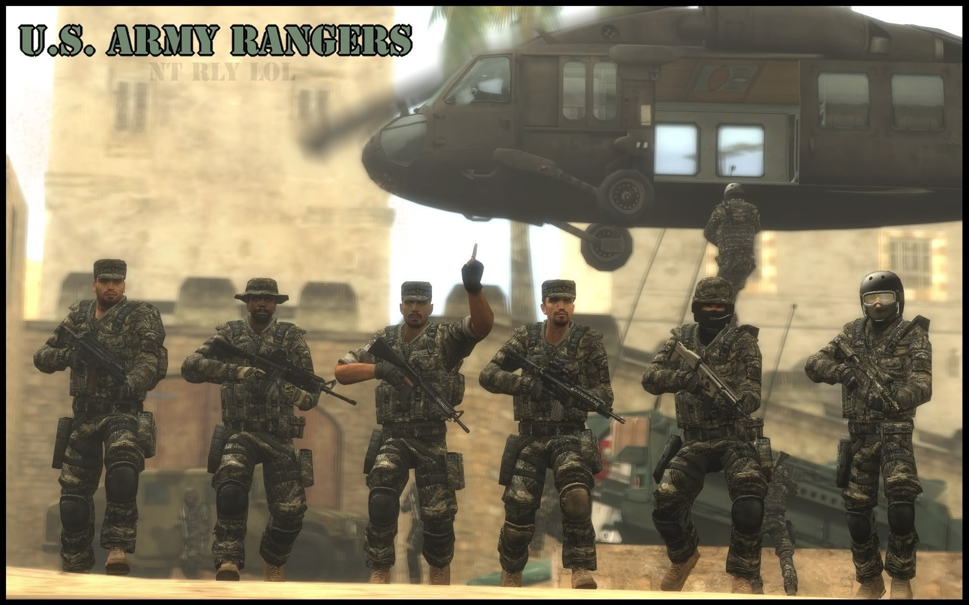 U.S. Army Rangers …