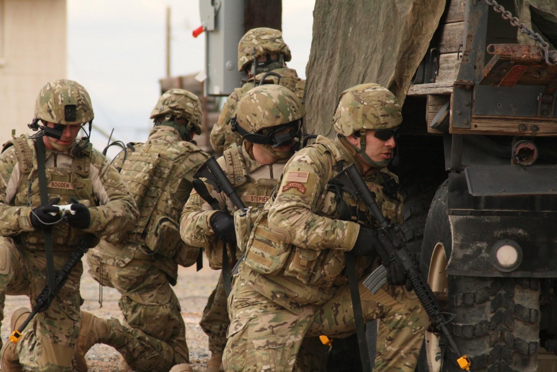 men the army iraq war ranger