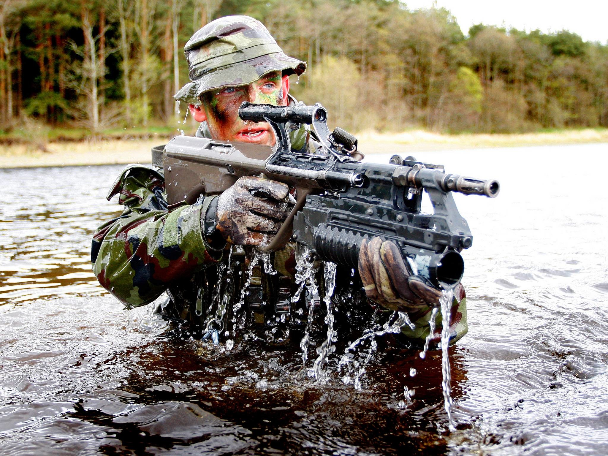 Irish Army Ranger …