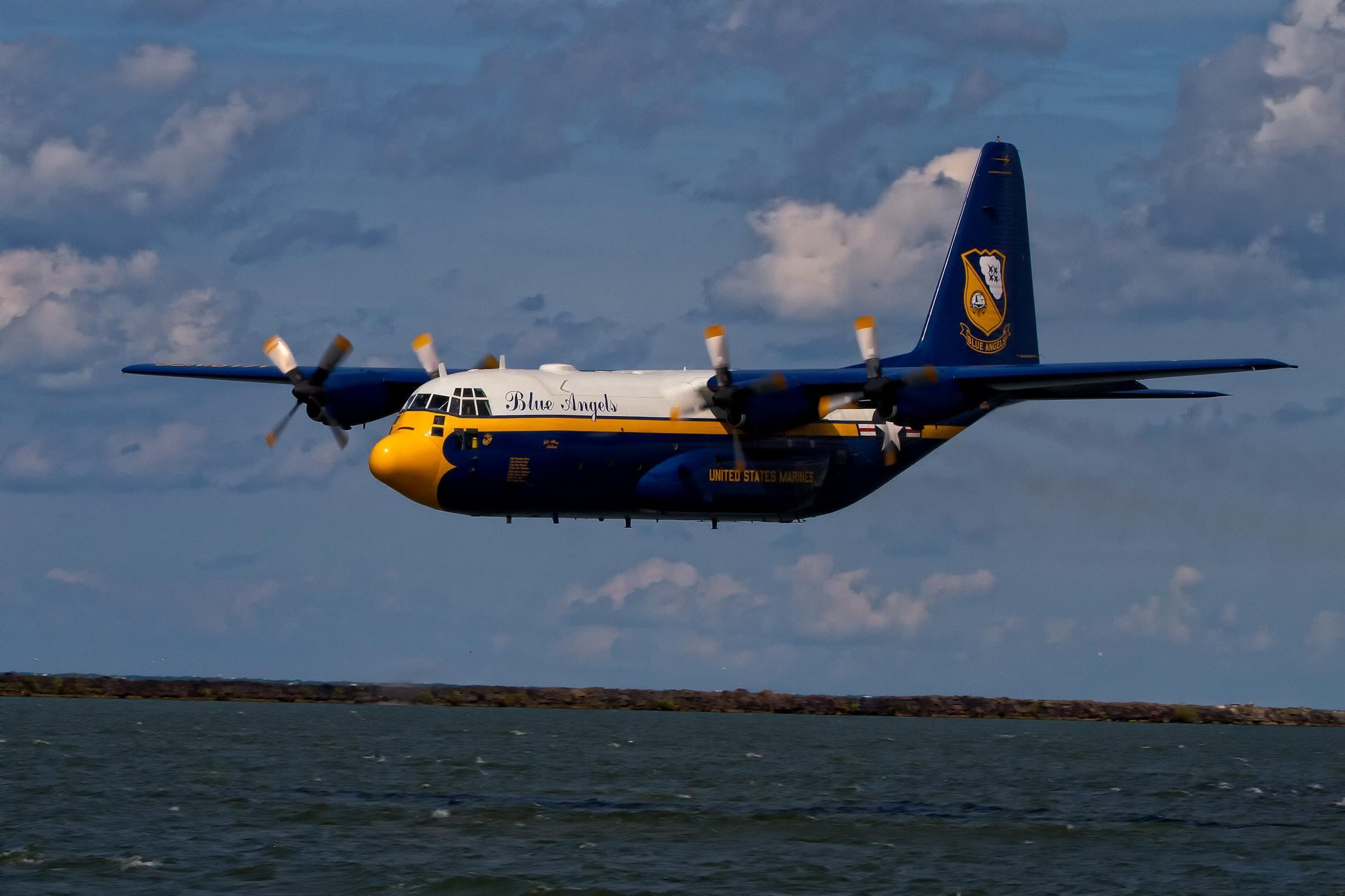 Fat Albert Is A C 130-marine Corps Aircraft >