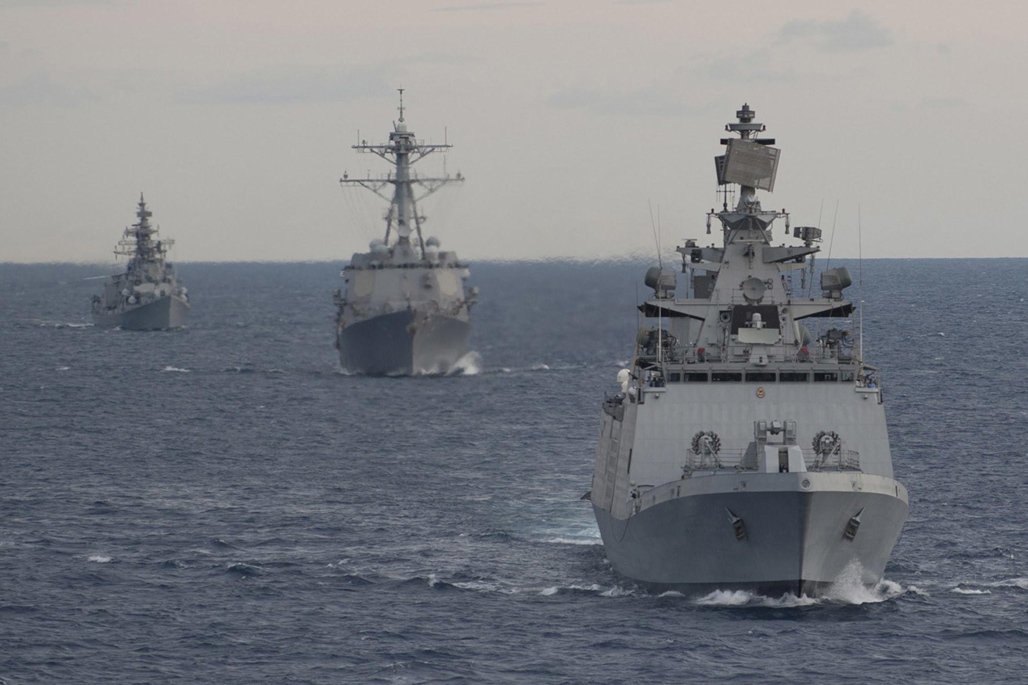 Exercise Malabar 2012 between Indian Navy & the US Navy [Wallpaper] …