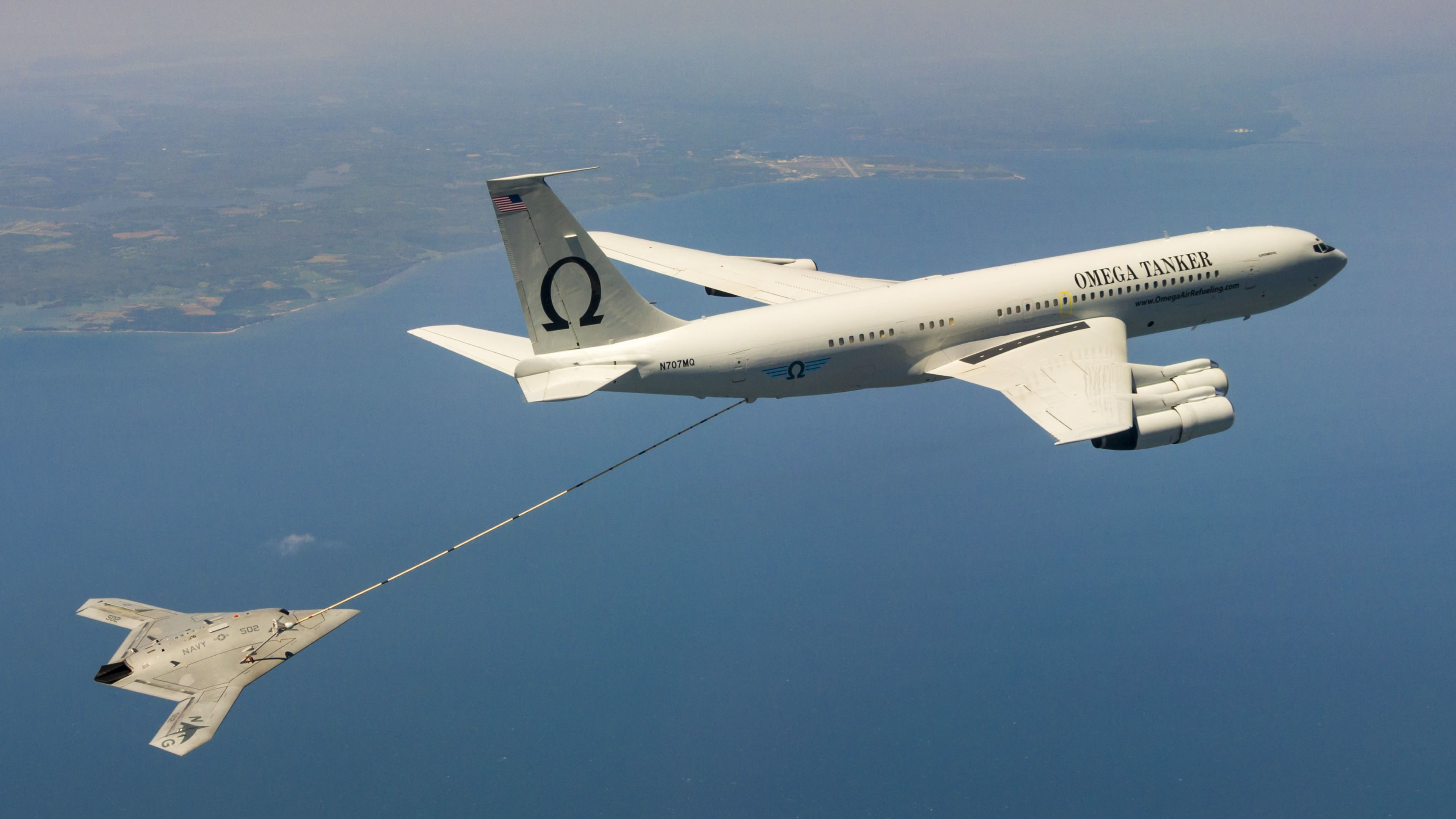 4K HD Wallpaper: US Navy 502 (Salty Dog 502) Aircraft fuel supply