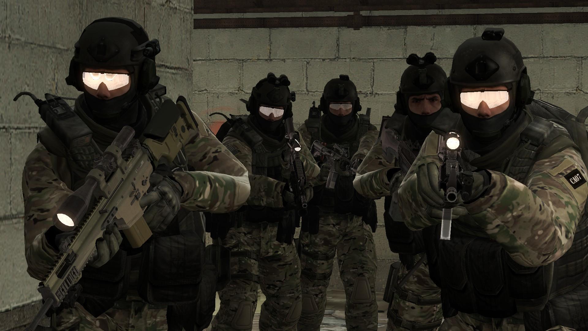 … CS:GO SEAL Team 6 by b2009