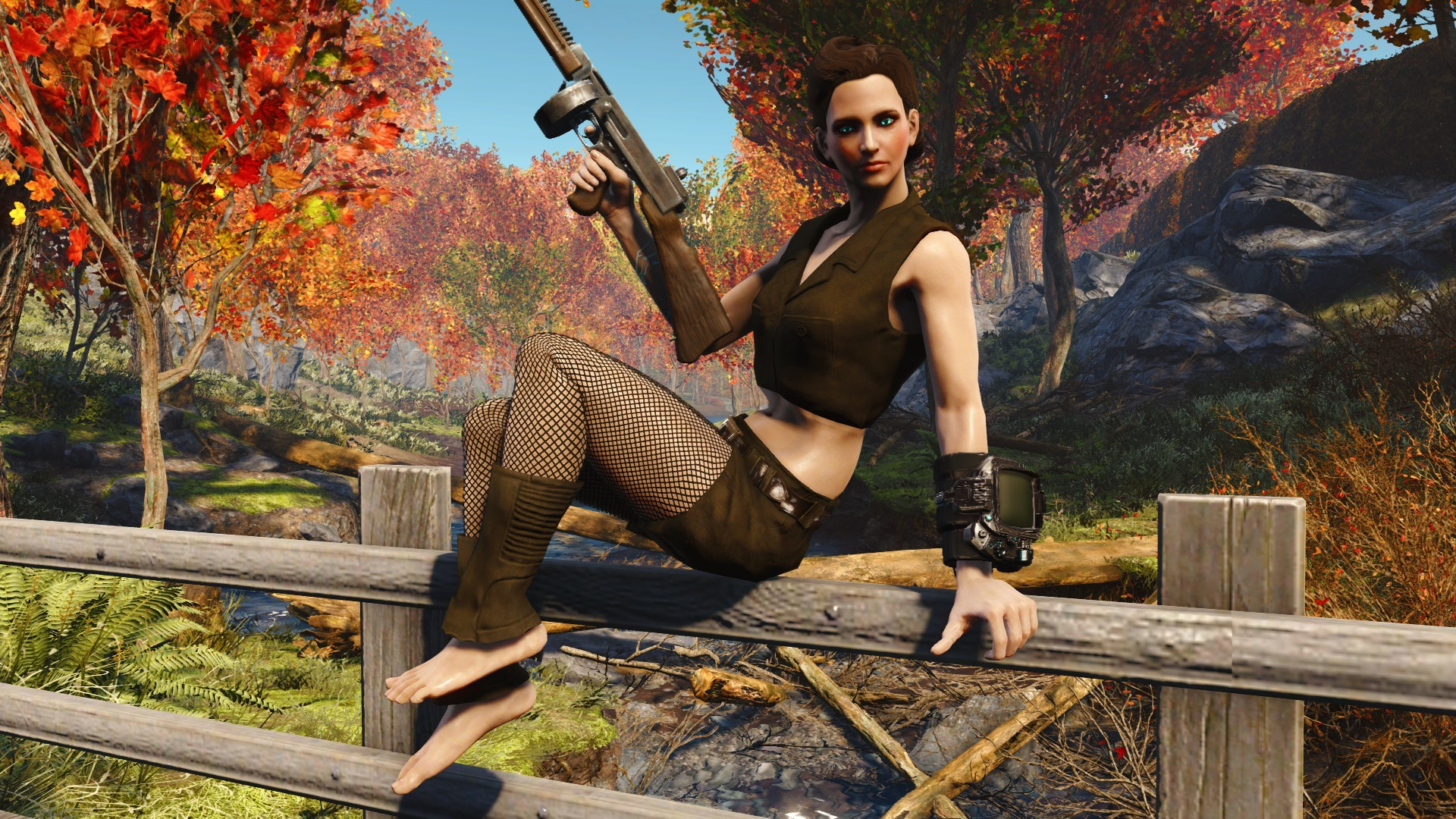 Military Pin-Up Outfit Pack (EVB-CBBE) (AWKCR-AE) at Fallout 4 Nexus – Mods  and community