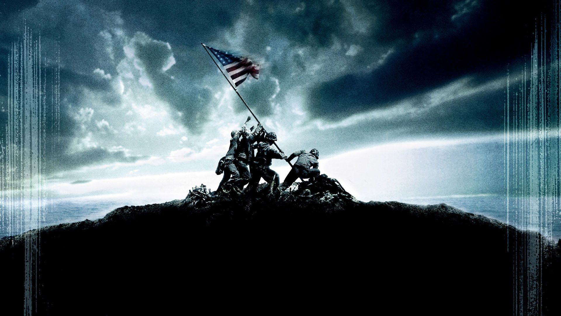 … Desktop Wallpaper Logo Us Marines 0 HTML code. Union Films – Review –  Flags of Our Fathers