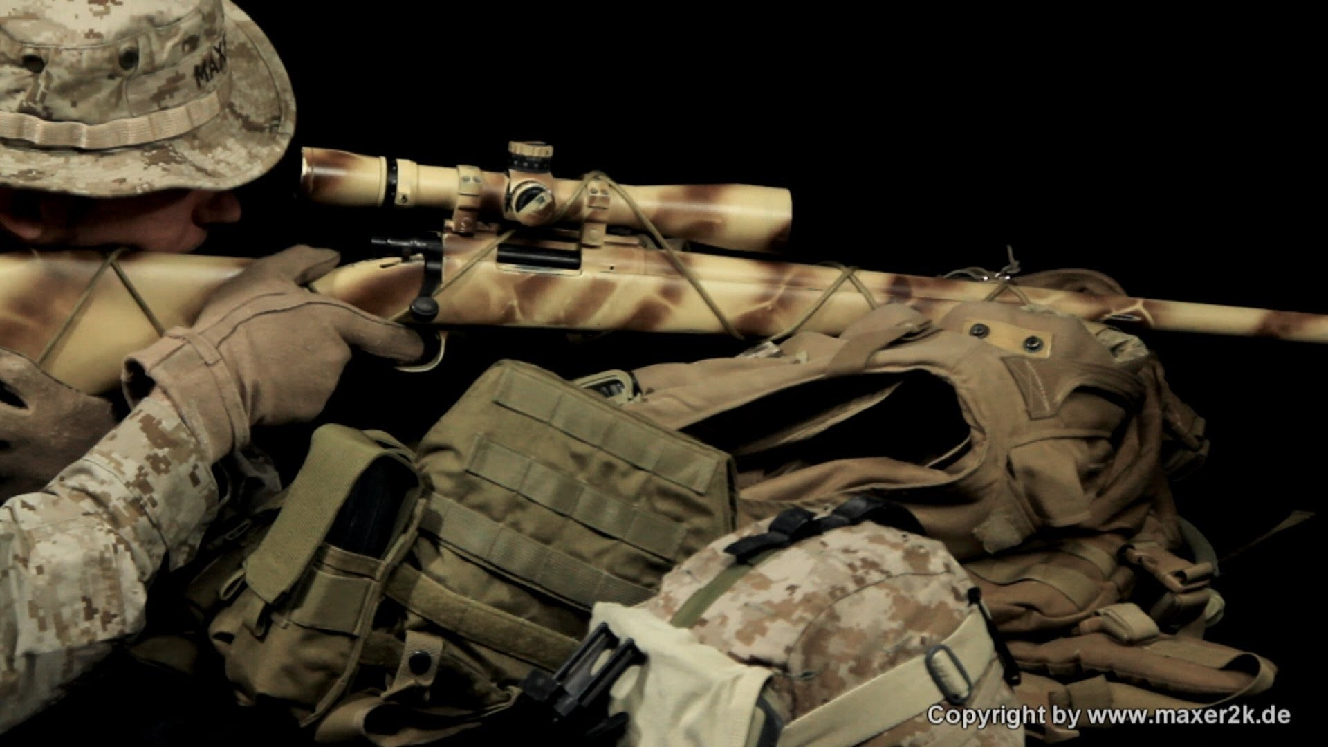 Displaying 20> Images For – Marine Scout Sniper Wallpaper.