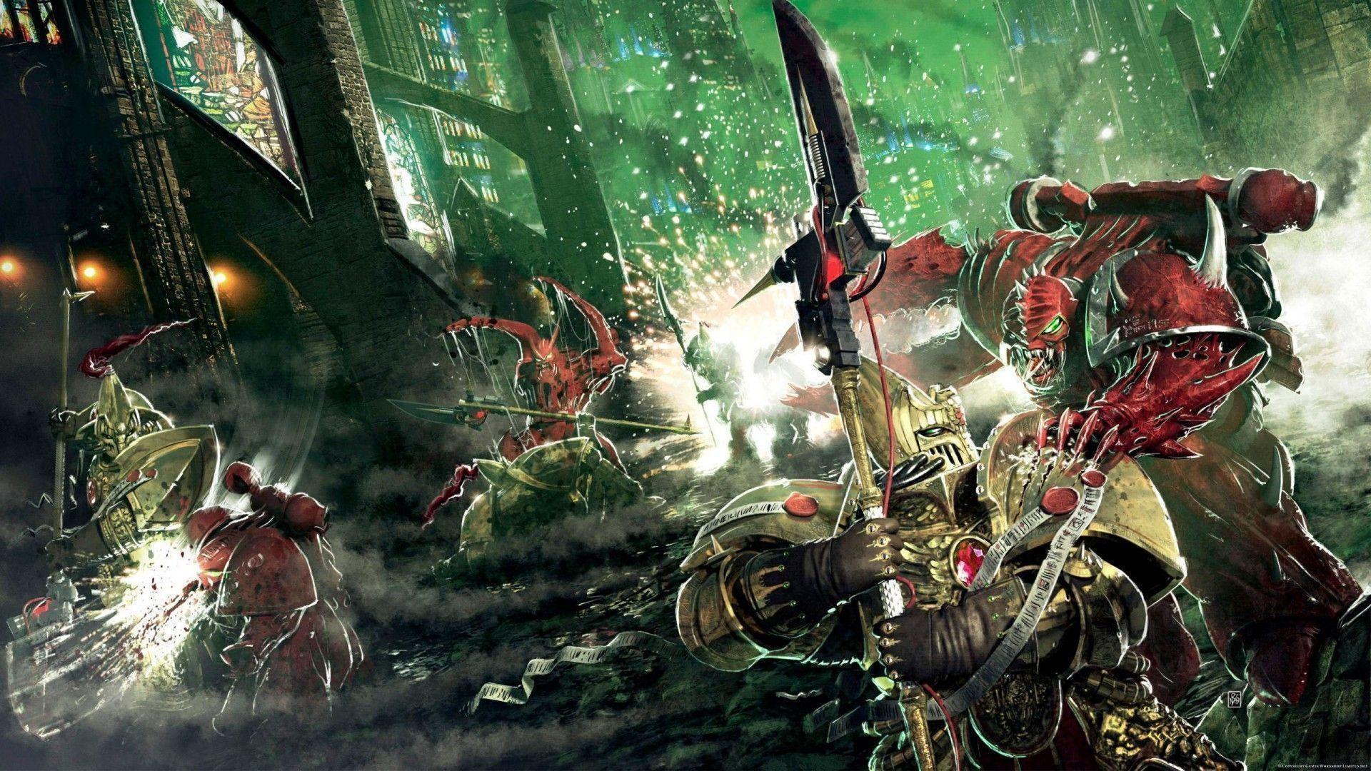 Images For > Chaos Space Marines Wallpaper