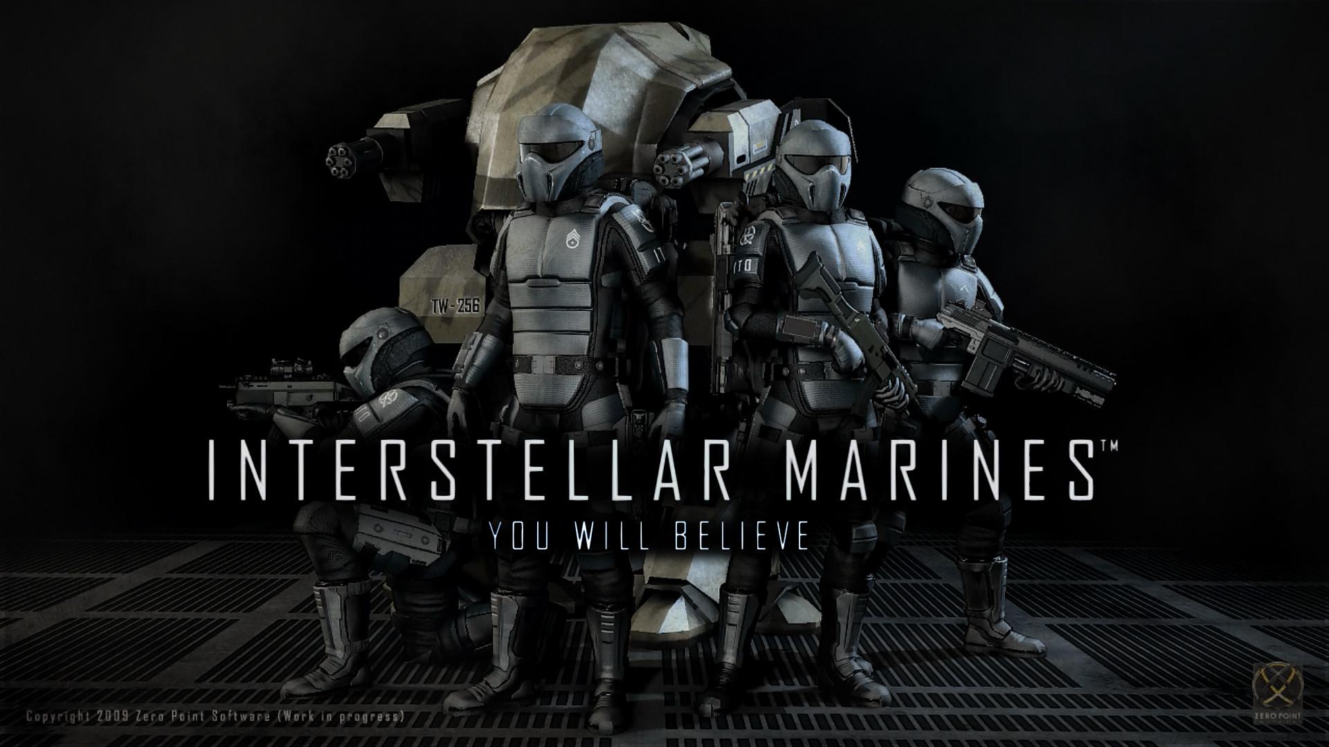 Interstellar Marines desktop fanmade by Superman999 on DeviantArt