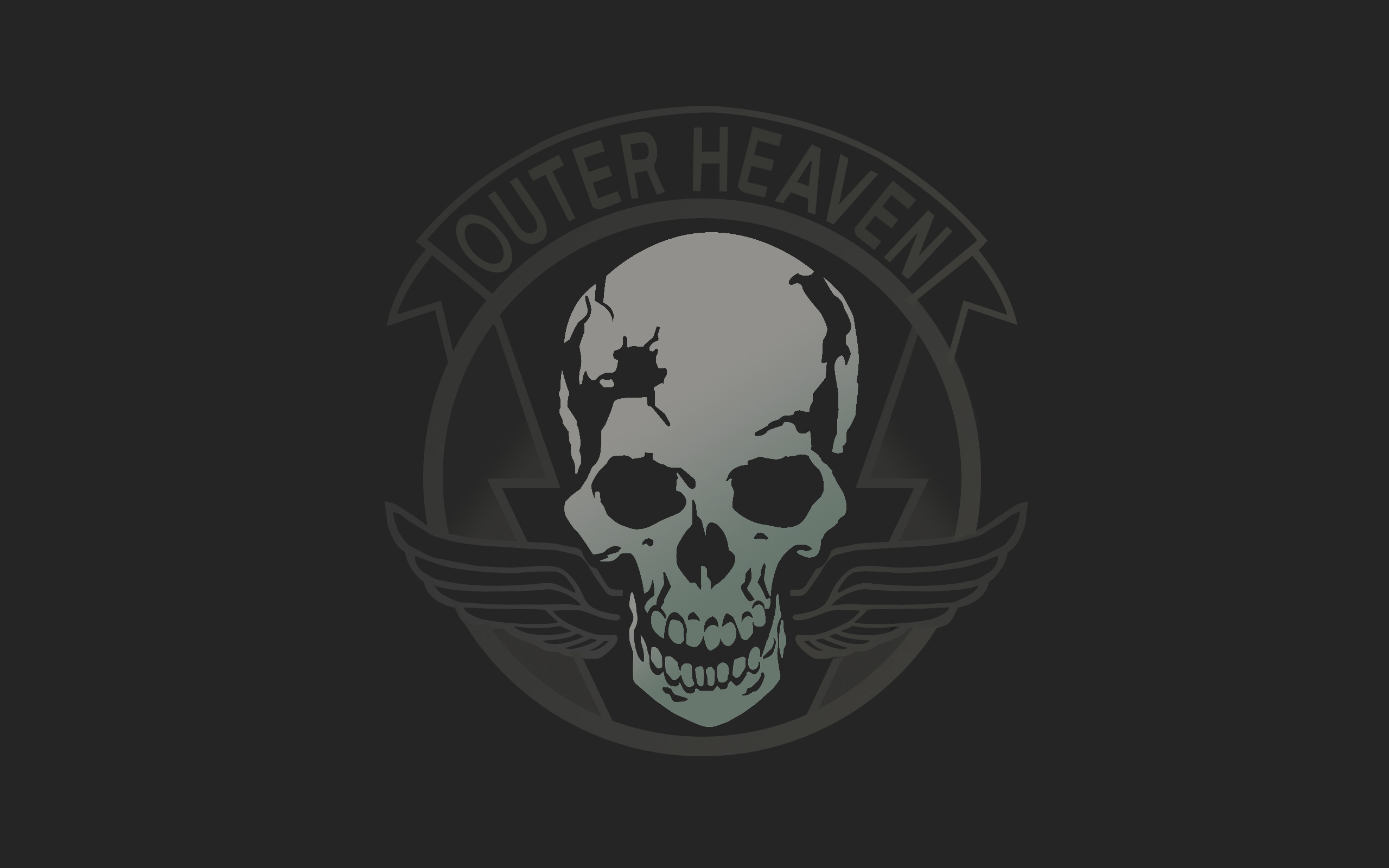"""Also, Outer Heaven is a place """"Where Men become Demons"""". Venom"""