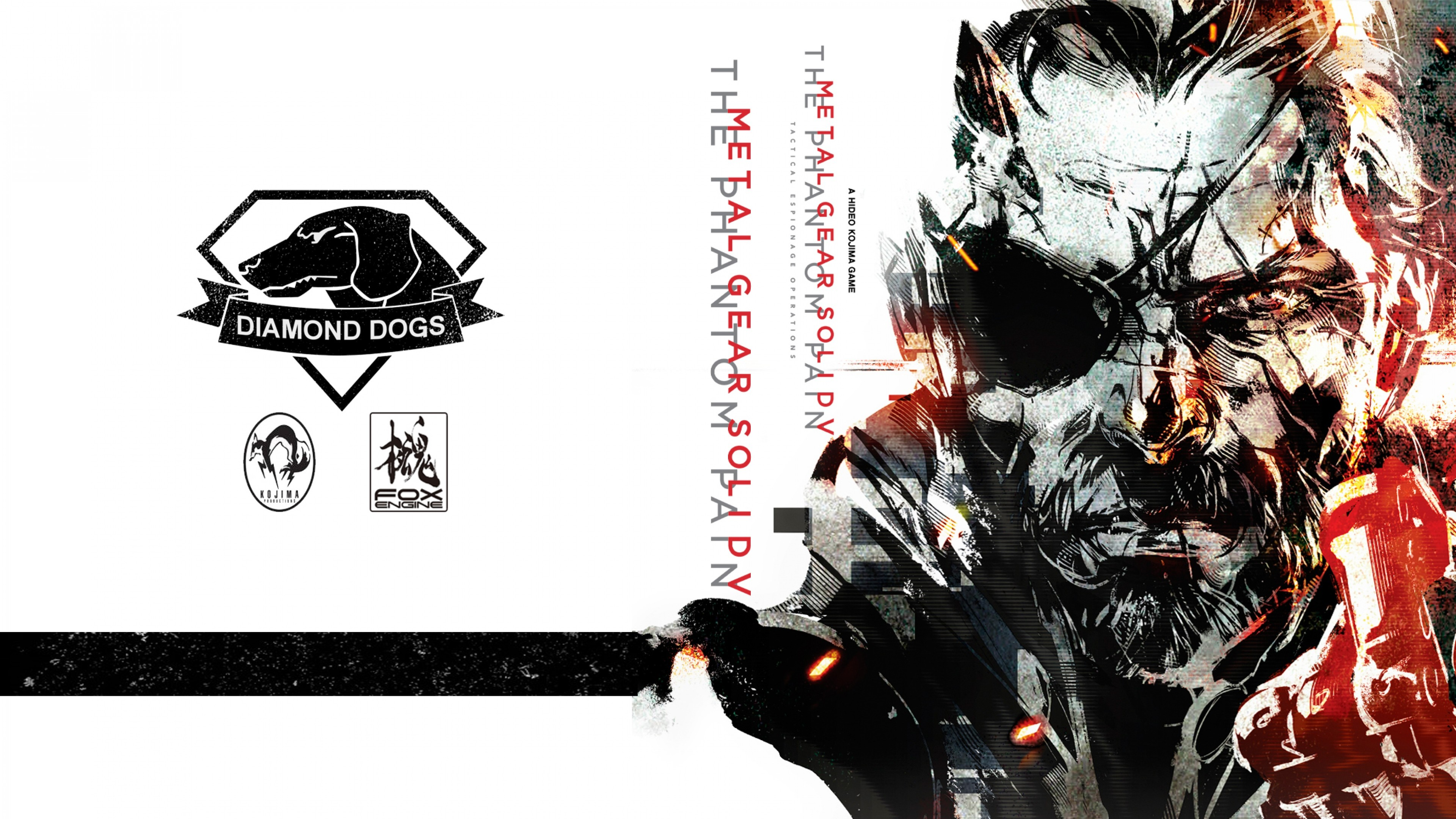 Preview wallpaper metal gear solid v, the phantom pain, art 3840×2160