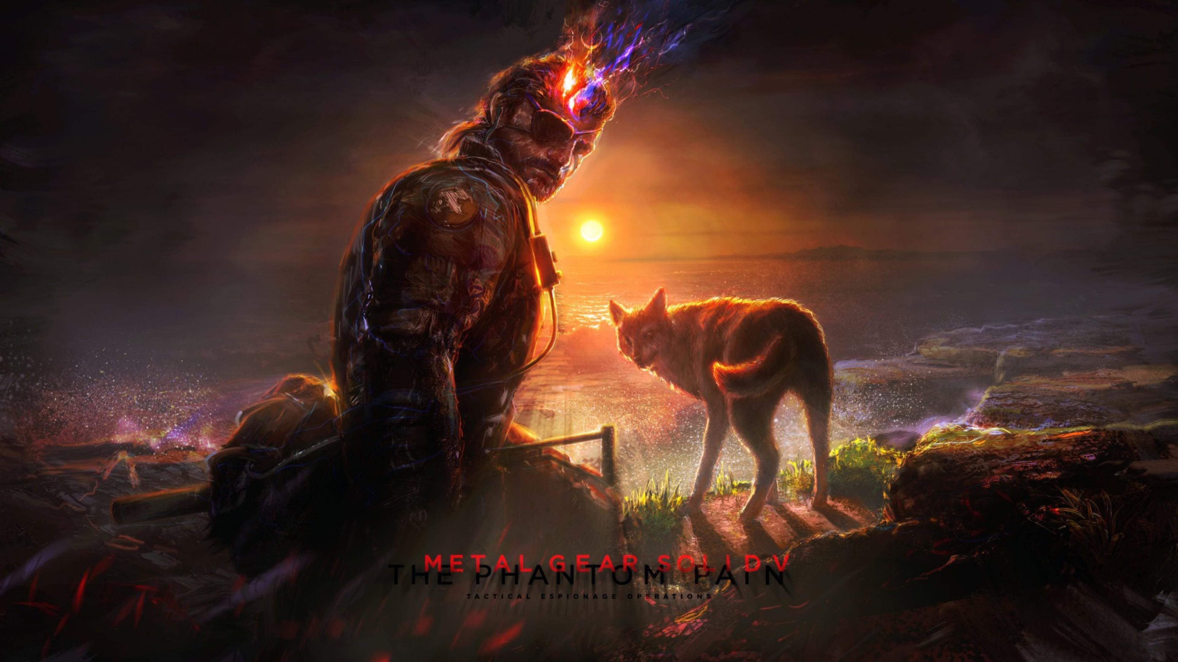 Metal Gear Solid 5 The Phantom Pain fox 1080p