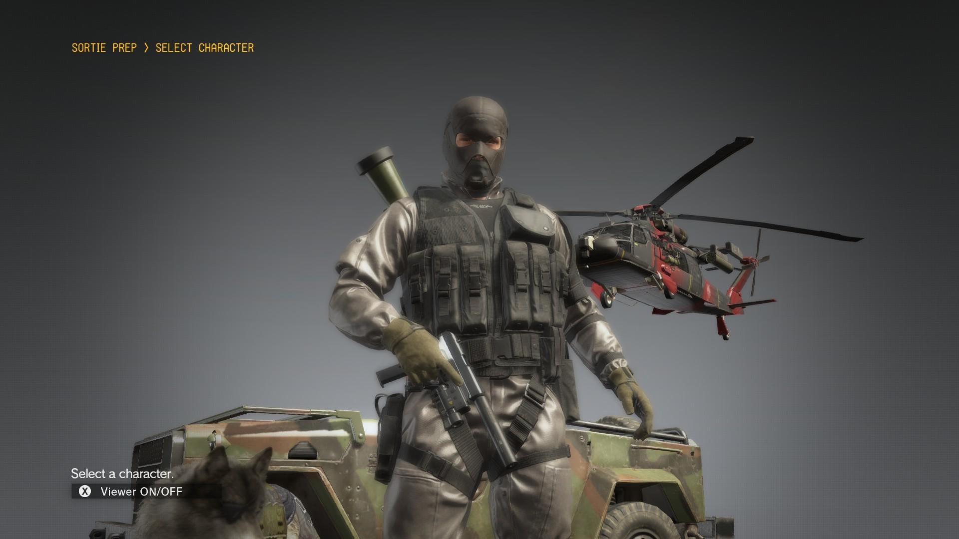 XOF Uniform Diamond Dogs Mod at Metal Gear Solid V: The Phantom Pain Nexus  – Mods and community